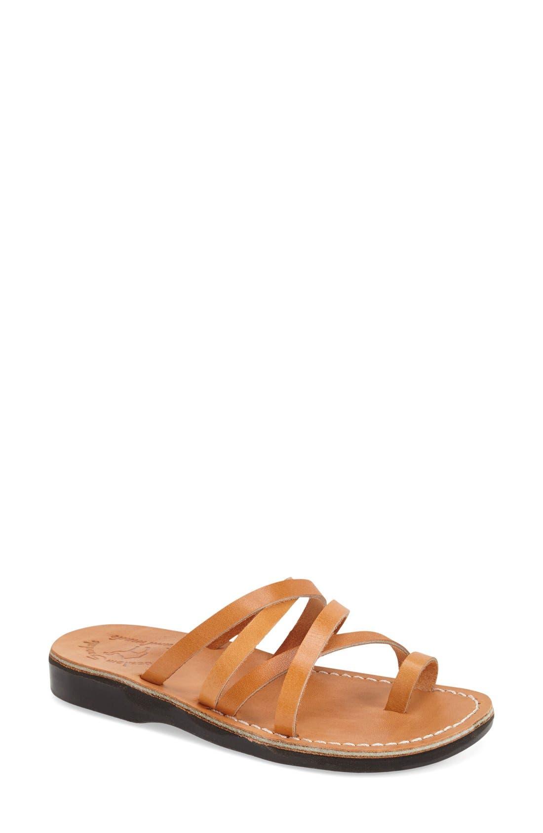 'Ariel' Strappy Slide Sandal,                         Main,                         color,