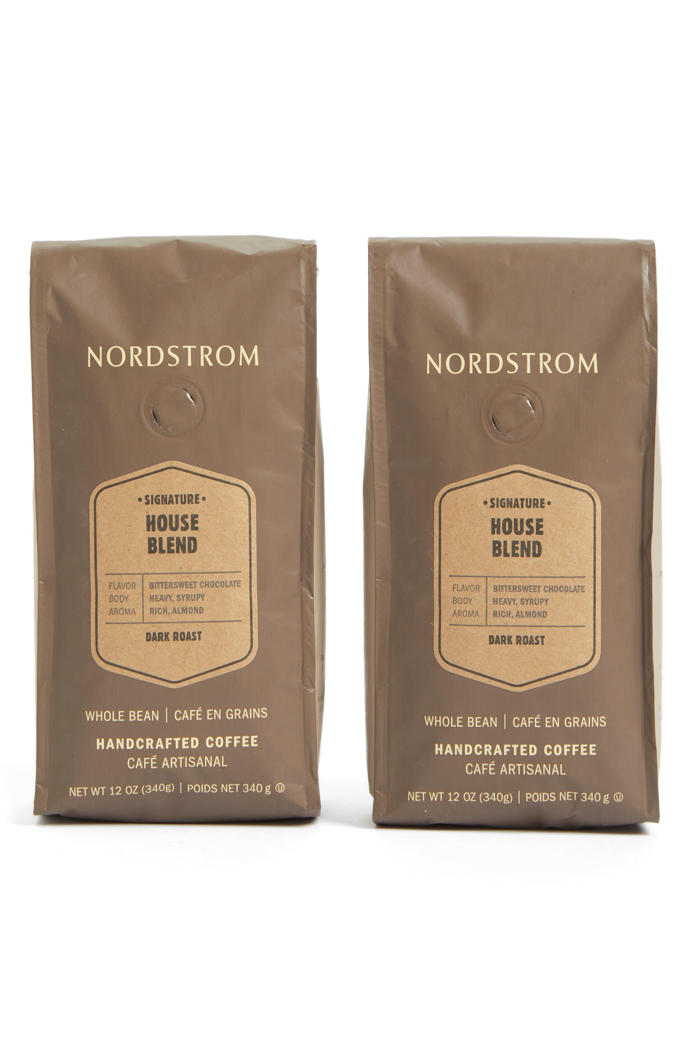 Coffee 'House Blend' Whole Bean Coffee,                             Main thumbnail 1, color,                             BEIGE/ KHAKI