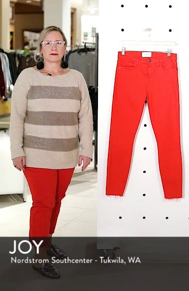 The Stiletto Crop Skinny Jeans, sales video thumbnail
