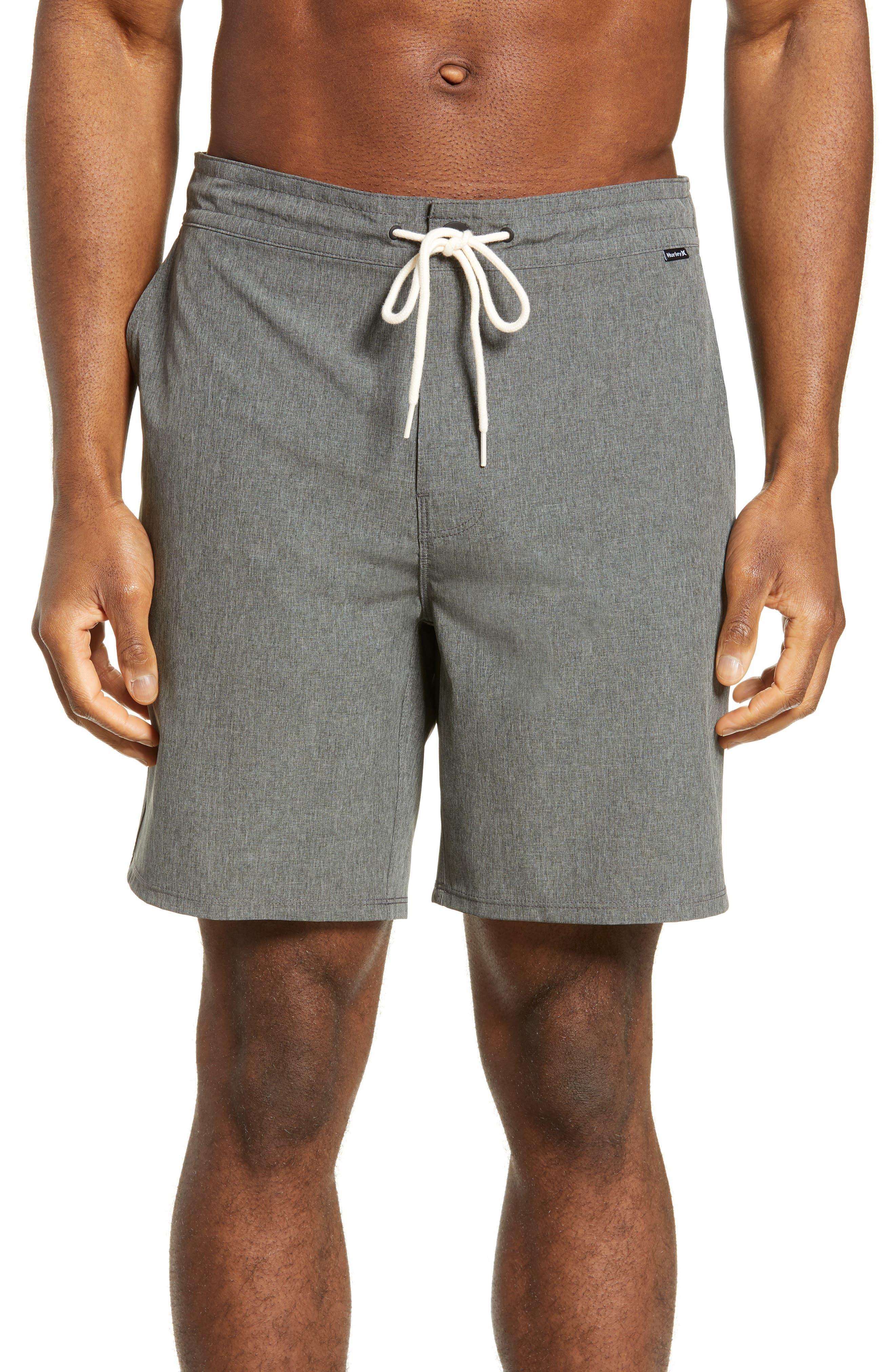 Hurley Phantom Wasteland Recycled Board Shorts, Grey