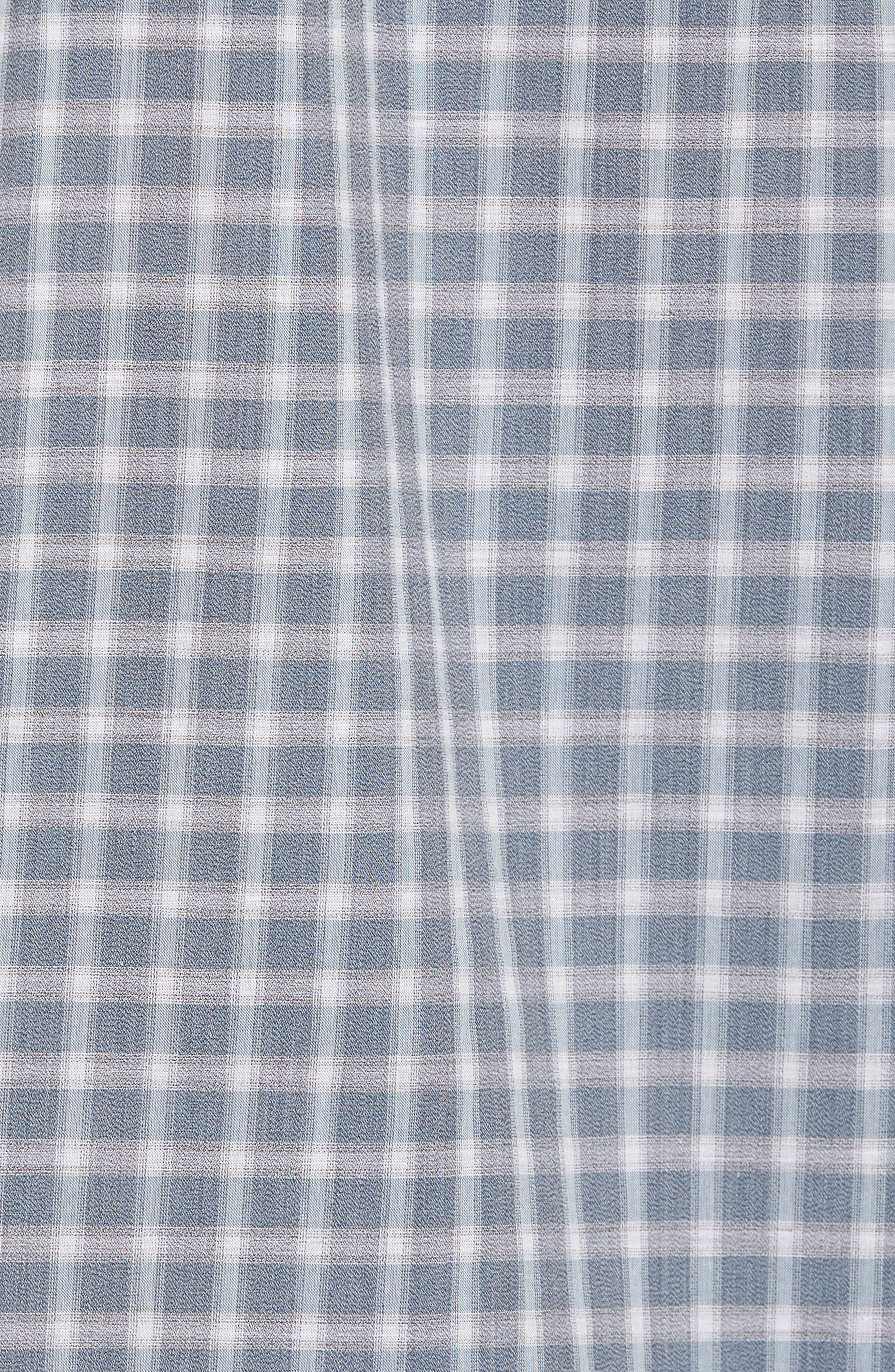 Larkins Way Regular Fit Check Sport Shirt,                             Alternate thumbnail 5, color,