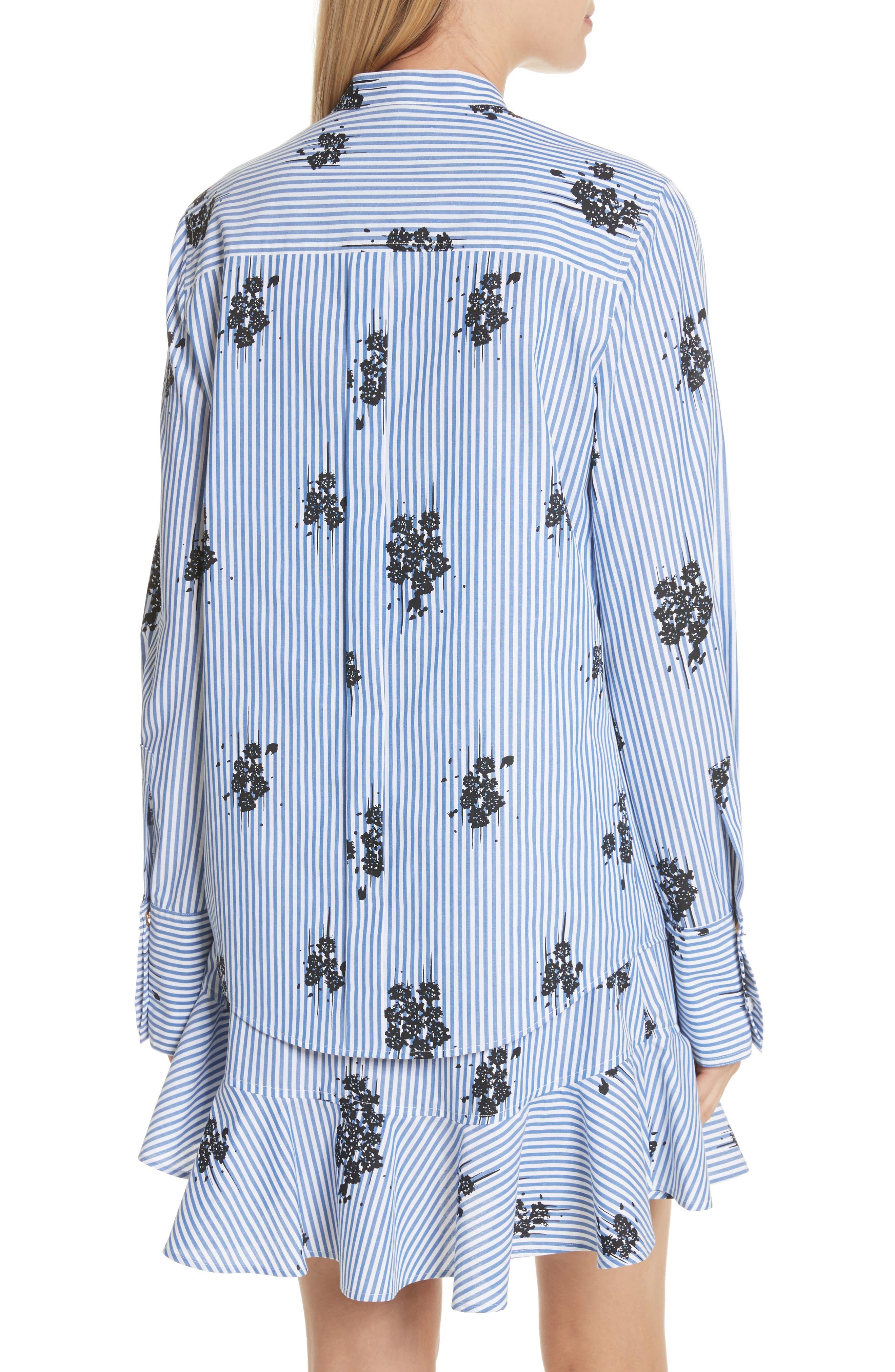 2-in-1 Ruffled Shirtdress,                             Alternate thumbnail 2, color,                             420