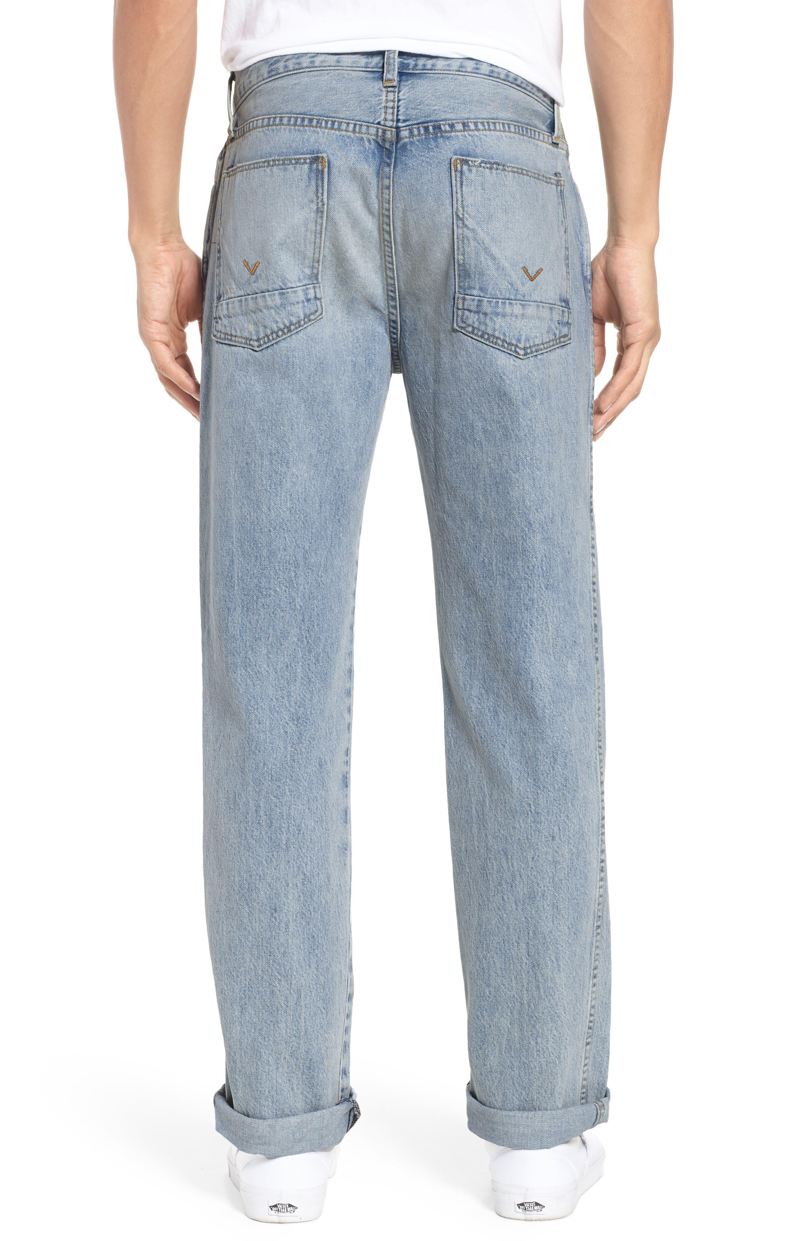 Dixon Straight Fit Jeans,                             Alternate thumbnail 2, color,                             451