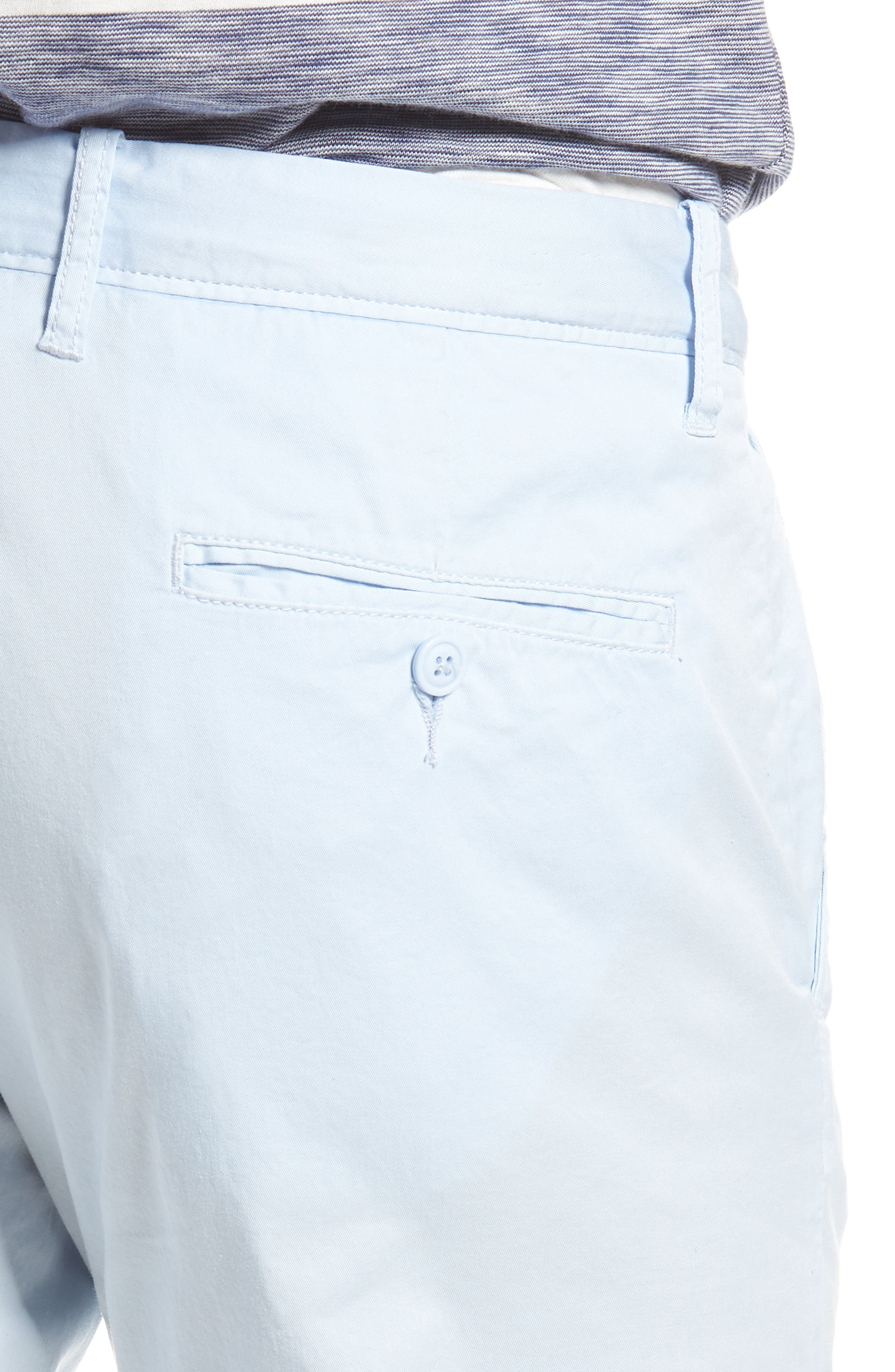 Slim Fit Garment Dyed Stretch Chinos,                             Alternate thumbnail 12, color,