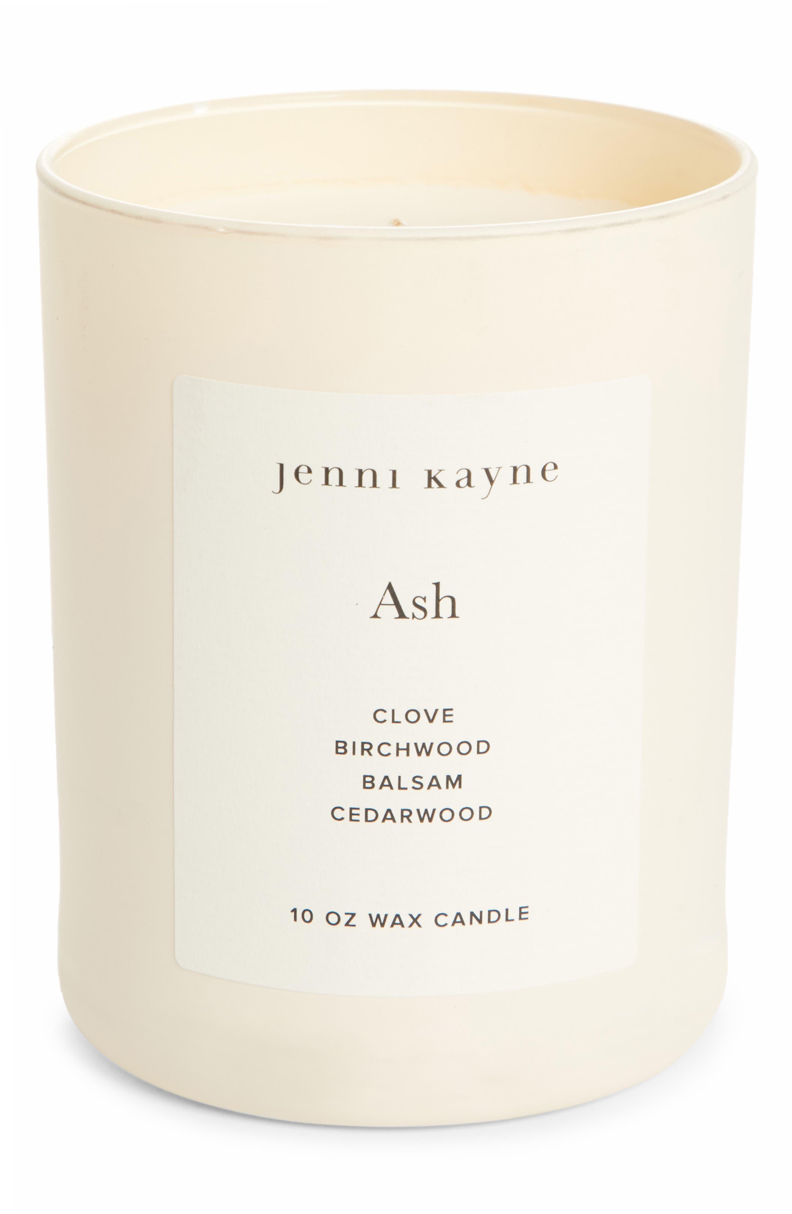 Ash Matte Glass Candle, Main, color, 960