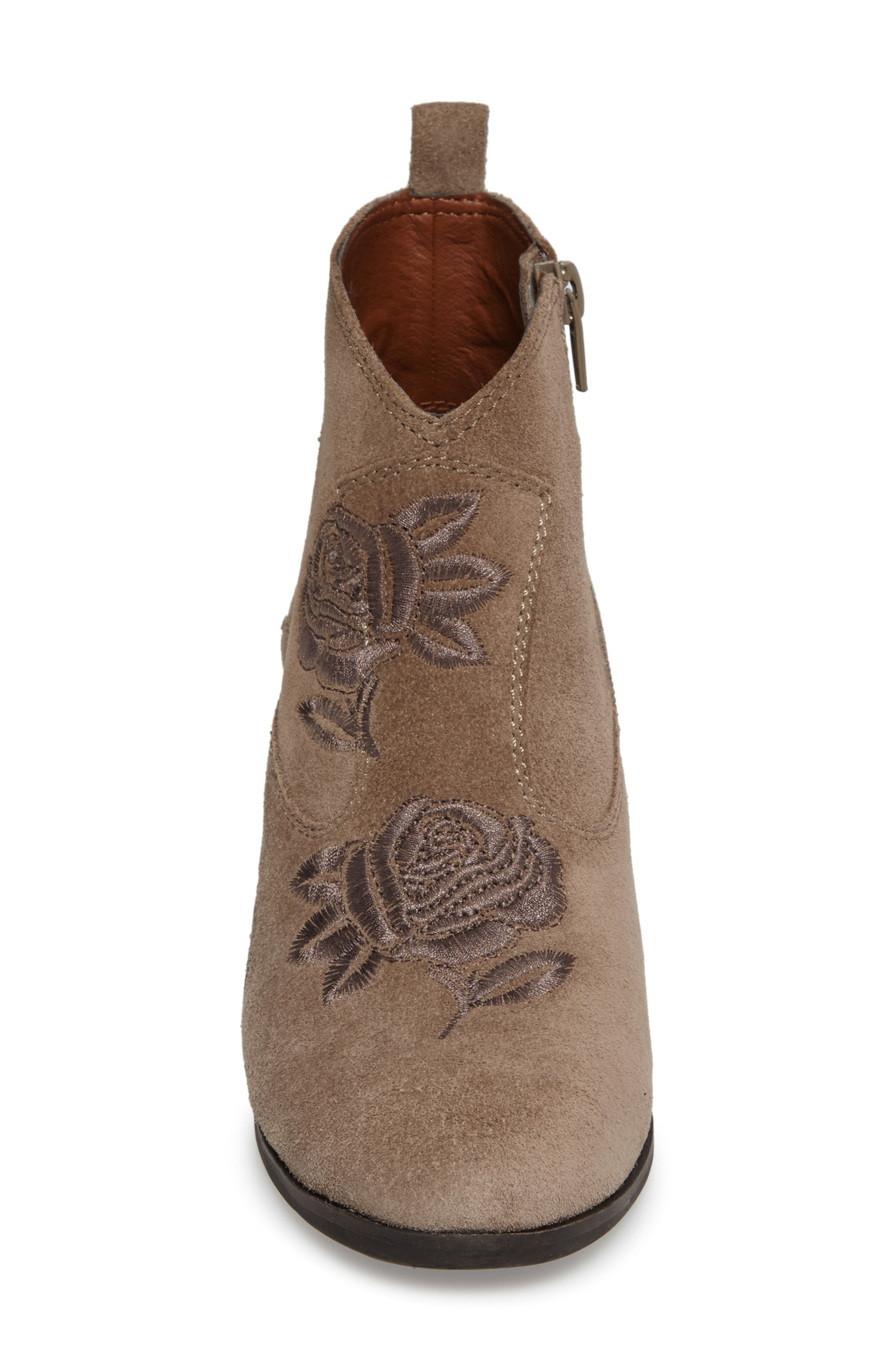Pexton Embroidered Bootie,                             Alternate thumbnail 14, color,