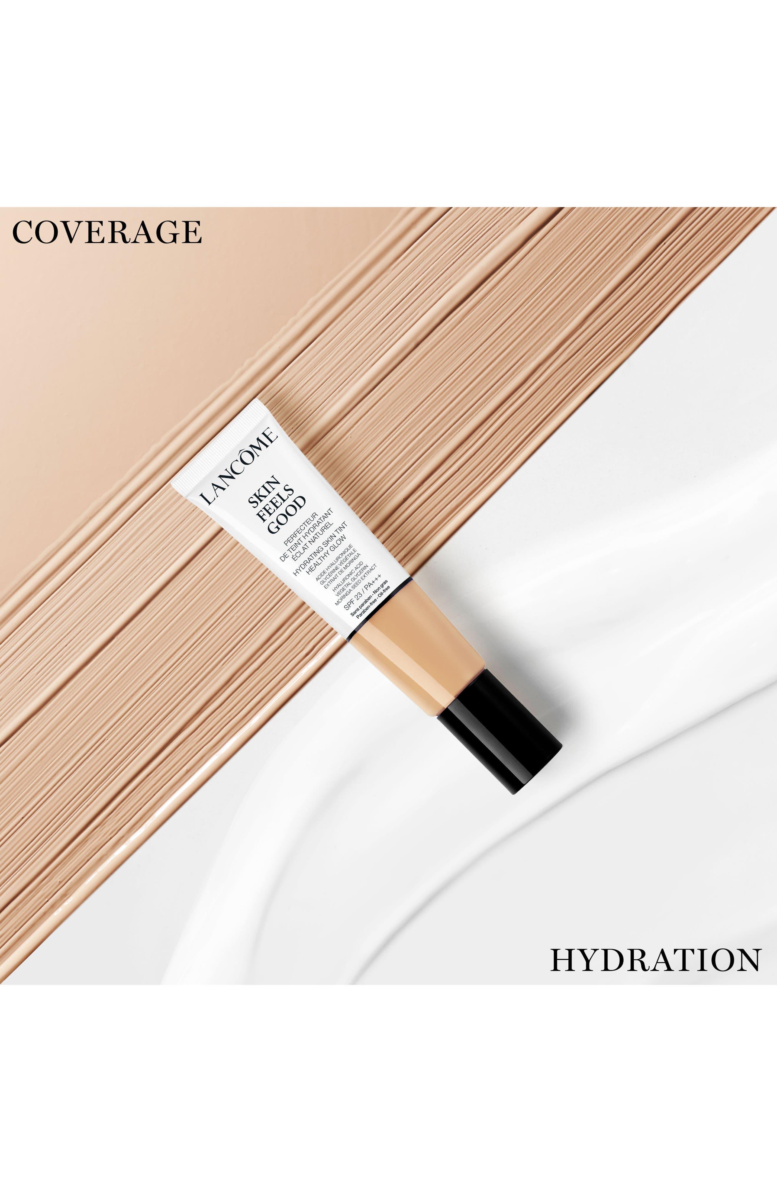 LANCÔME,                             Skin Feels Good Hydrating Skin Tint Healthy Glow SPF 23,                             Alternate thumbnail 10, color,                             05N RADIANT TAN