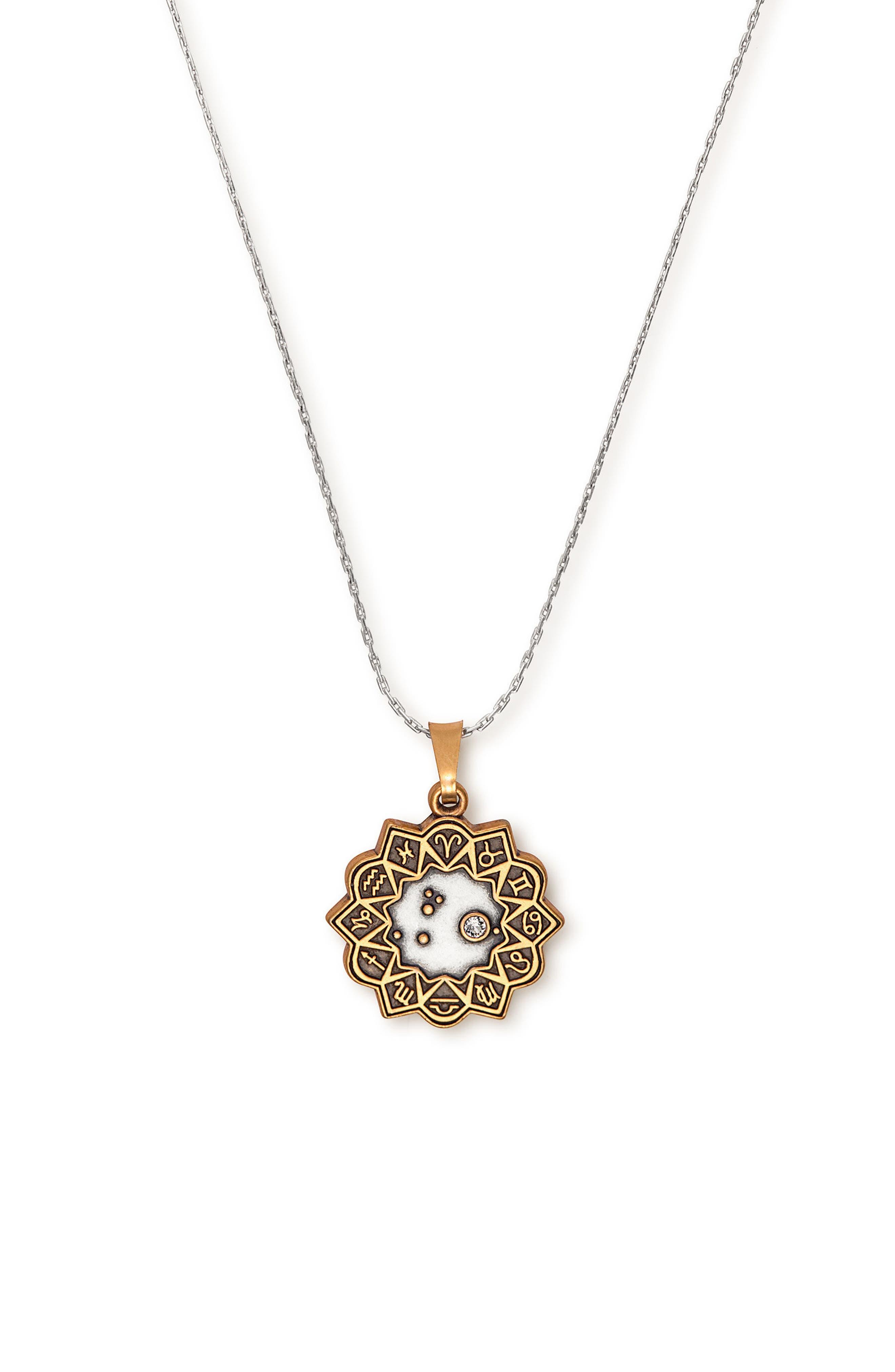 Aries Expandable Pendant Necklace,                         Main,                         color, 040
