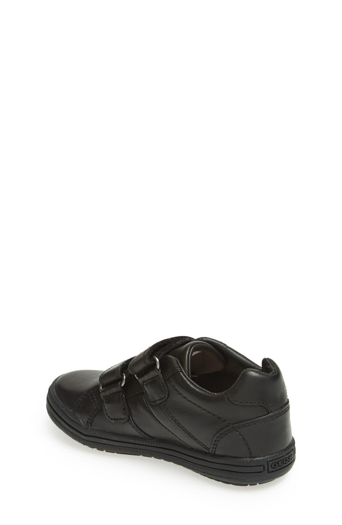 GEOX,                             Elvis 25 Sneaker,                             Alternate thumbnail 4, color,                             BLACK