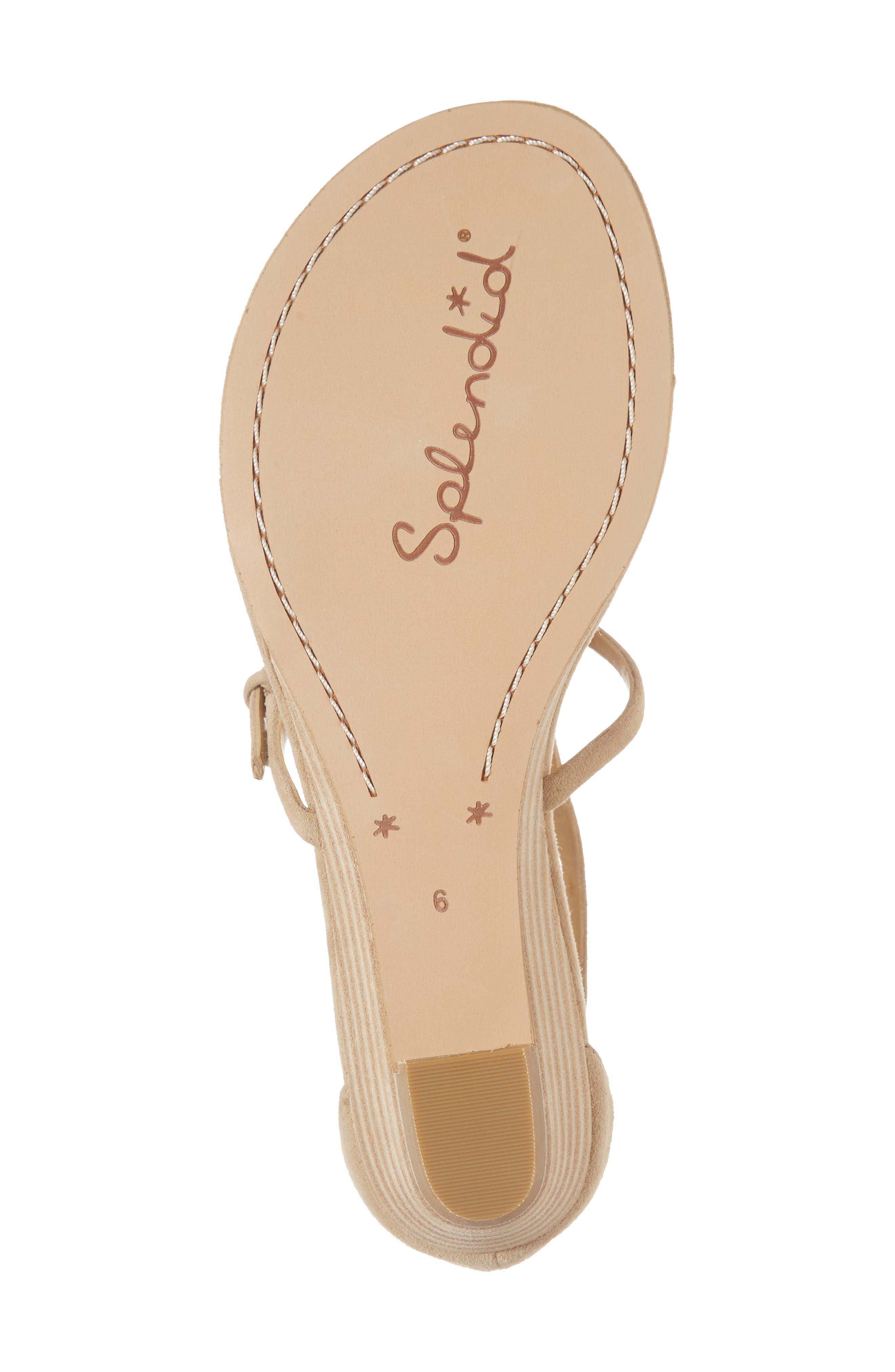 Brooklyn V-Strap Wedge Sandal,                             Alternate thumbnail 22, color,