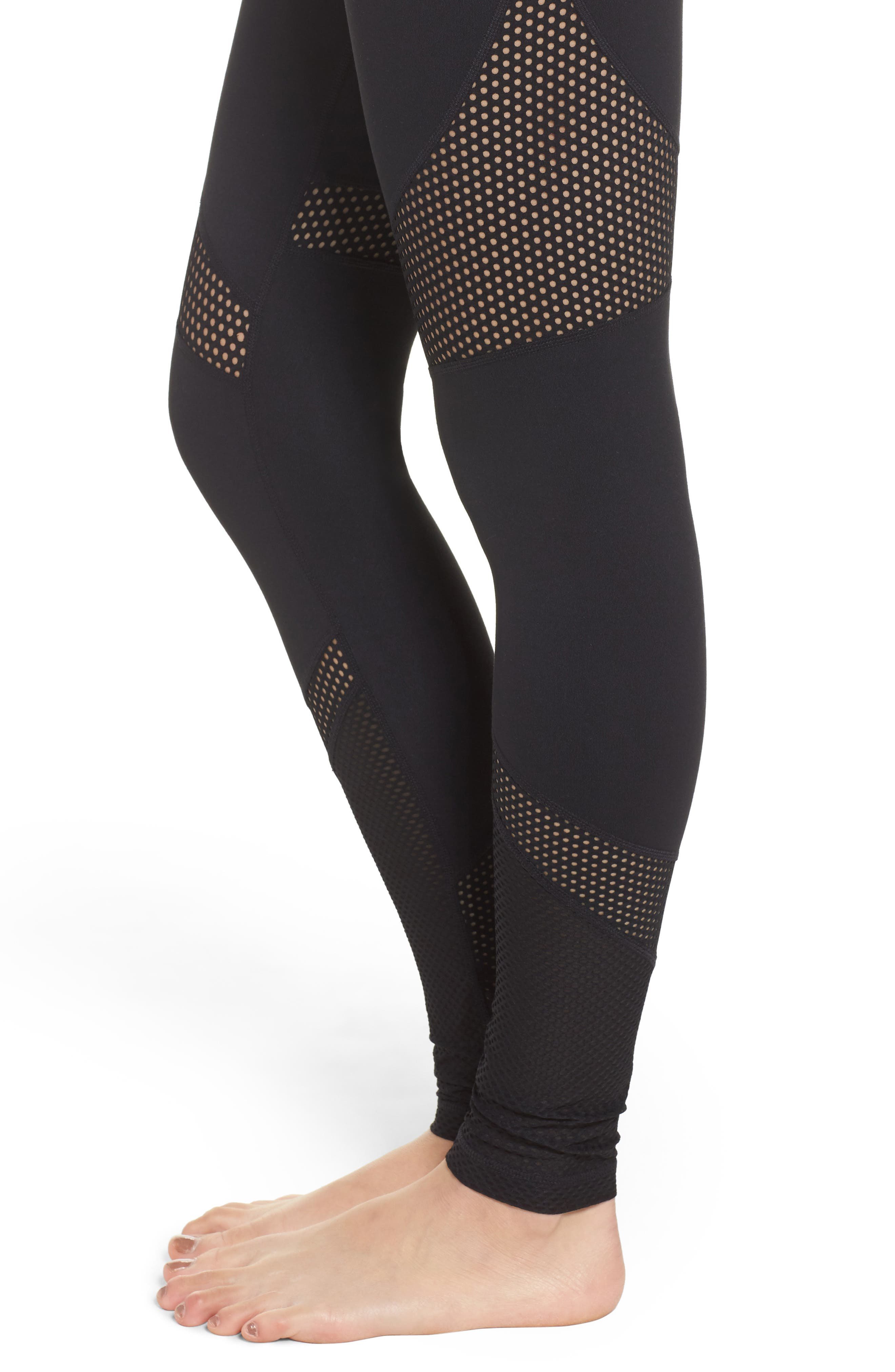 Out of Bounds High Waist Leggings,                             Alternate thumbnail 4, color,                             001
