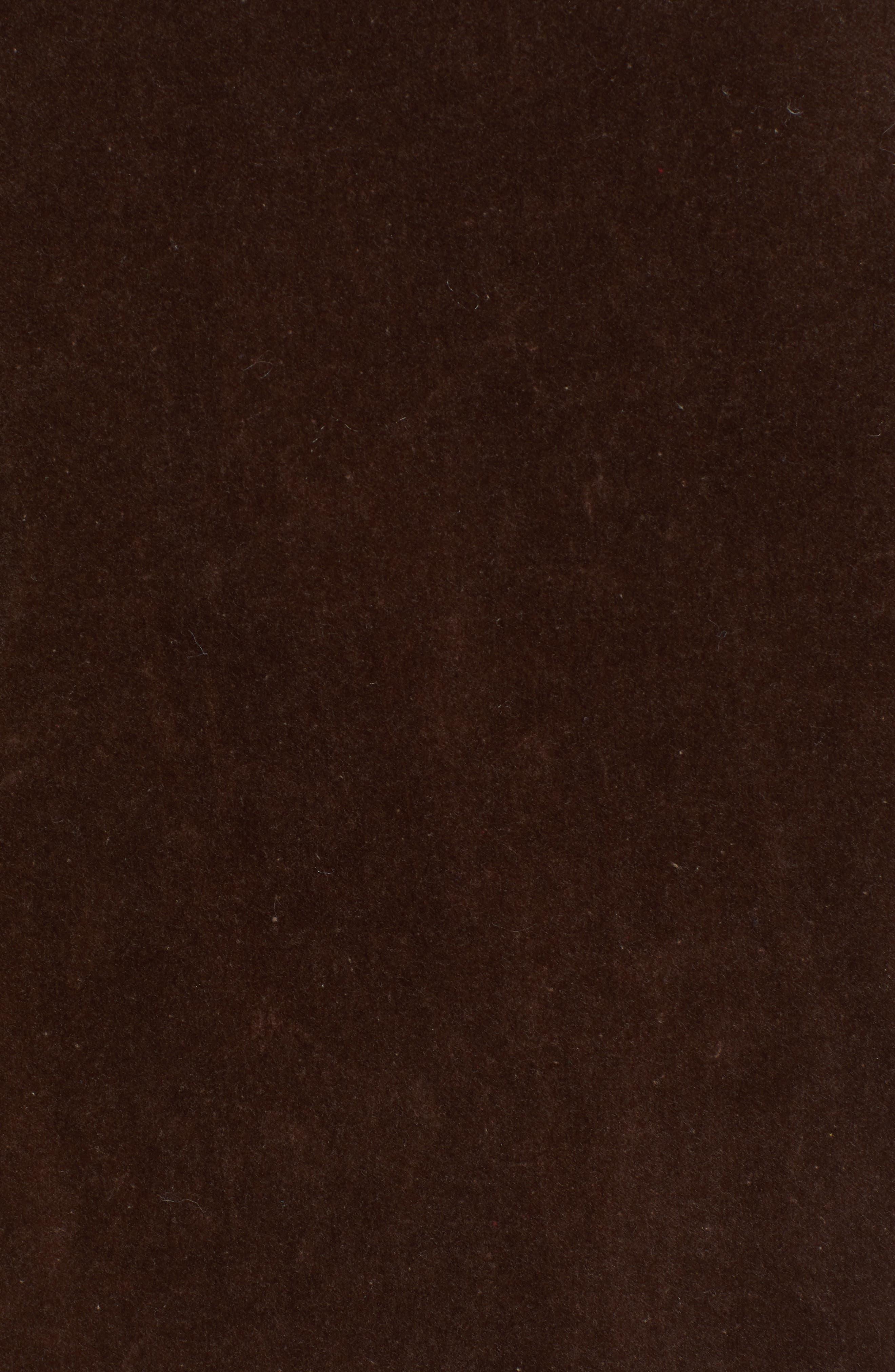 Velvet Beaded Jacket,                             Alternate thumbnail 7, color,                             TAUPE