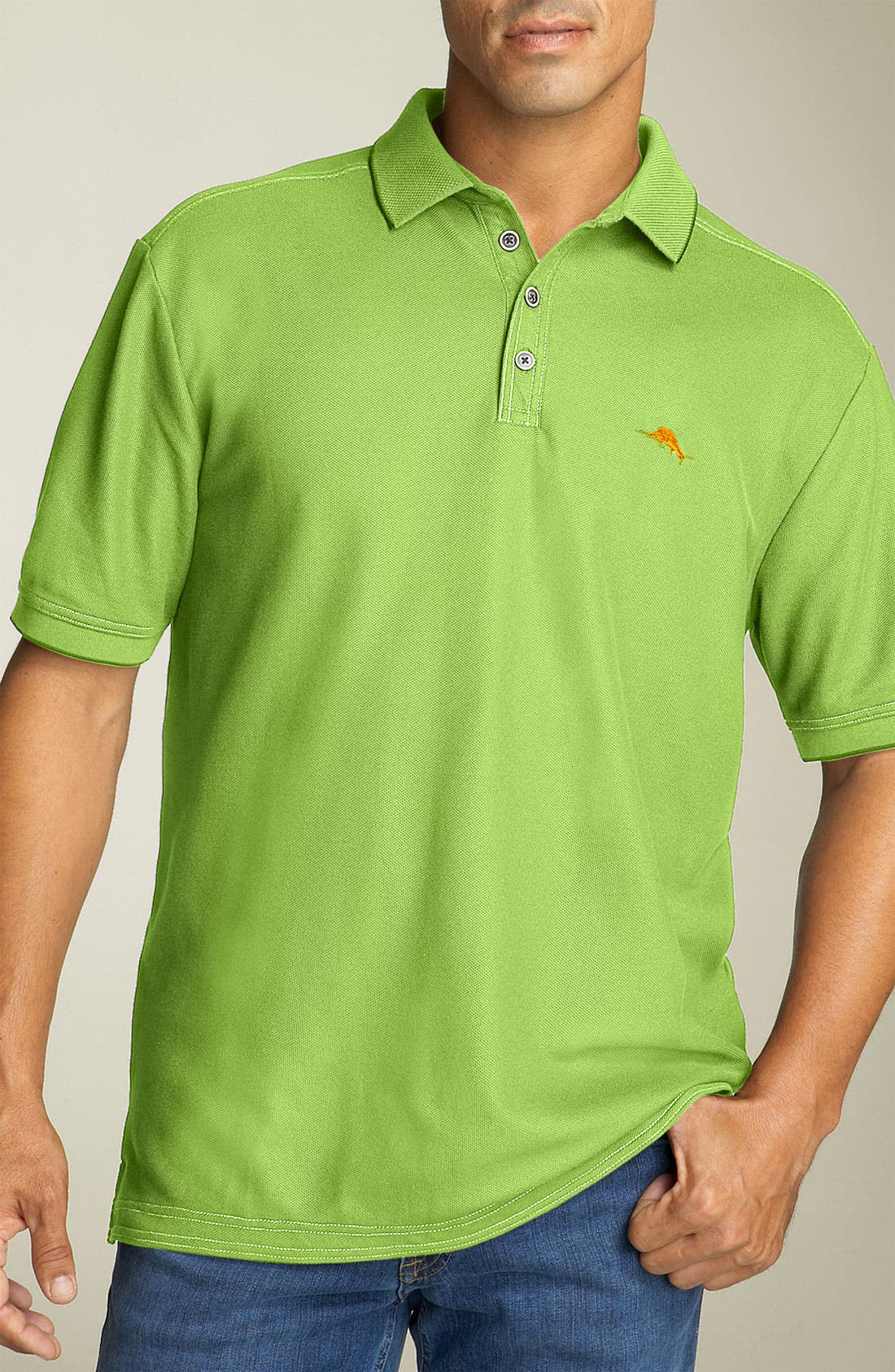 'The Emfielder' Original Fit Piqué Polo,                             Main thumbnail 35, color,