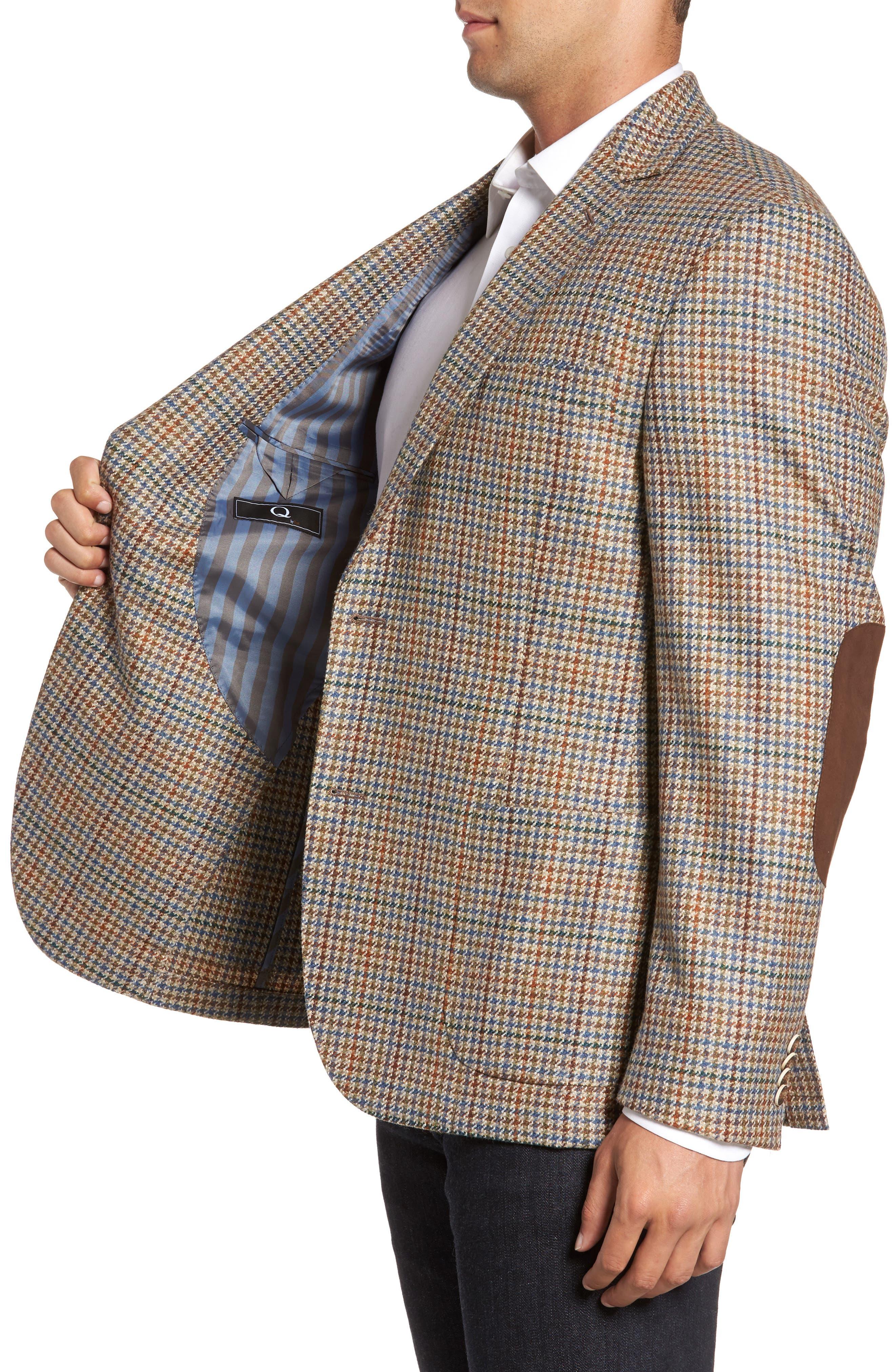 Houndstooth Wool Blend Sport Coat,                             Alternate thumbnail 3, color,                             250