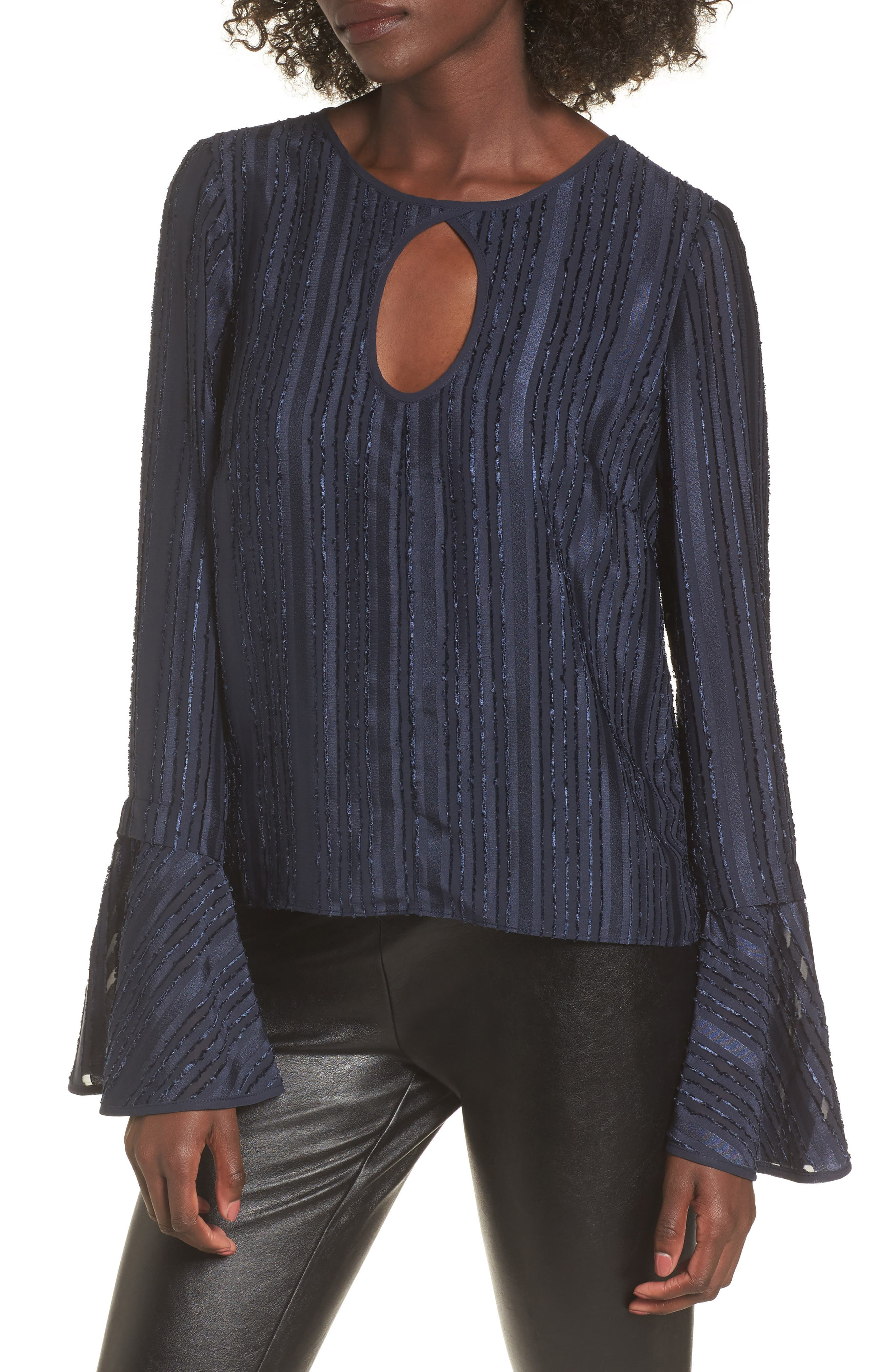 Raquel Bell Sleeve Blouse,                         Main,                         color, 400