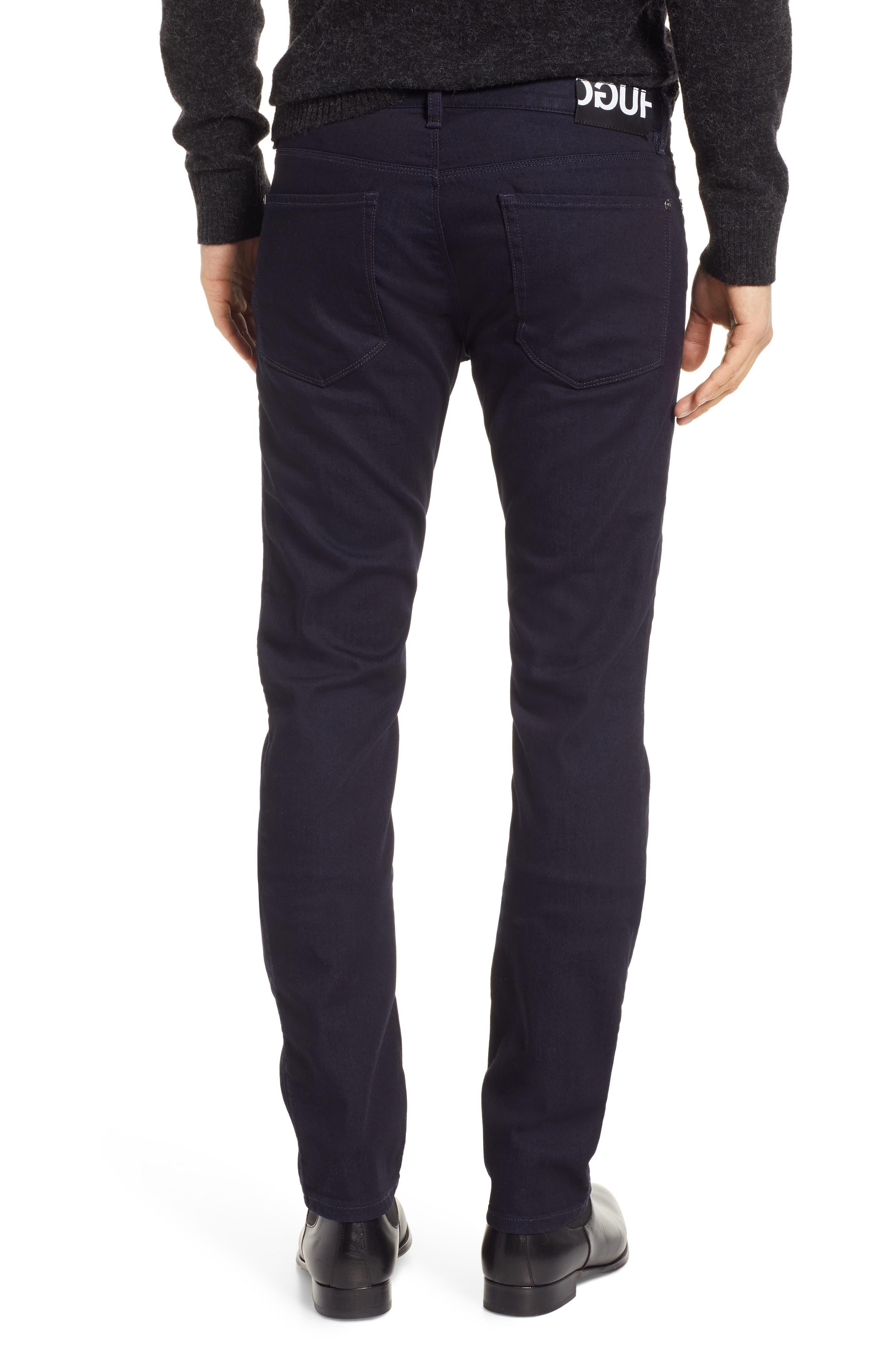 Dressy Slim Fit Jeans,                             Alternate thumbnail 2, color,                             401