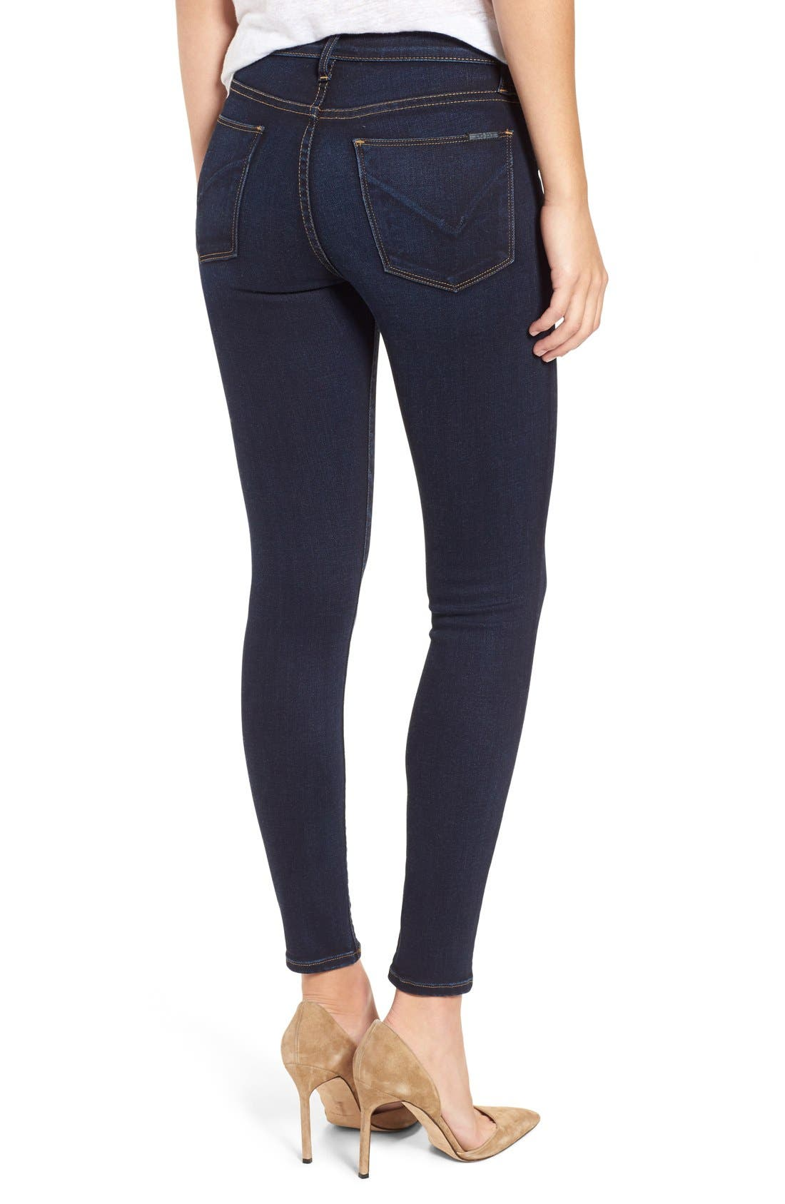 'Nico' Ankle Skinny Jeans,                             Alternate thumbnail 35, color,
