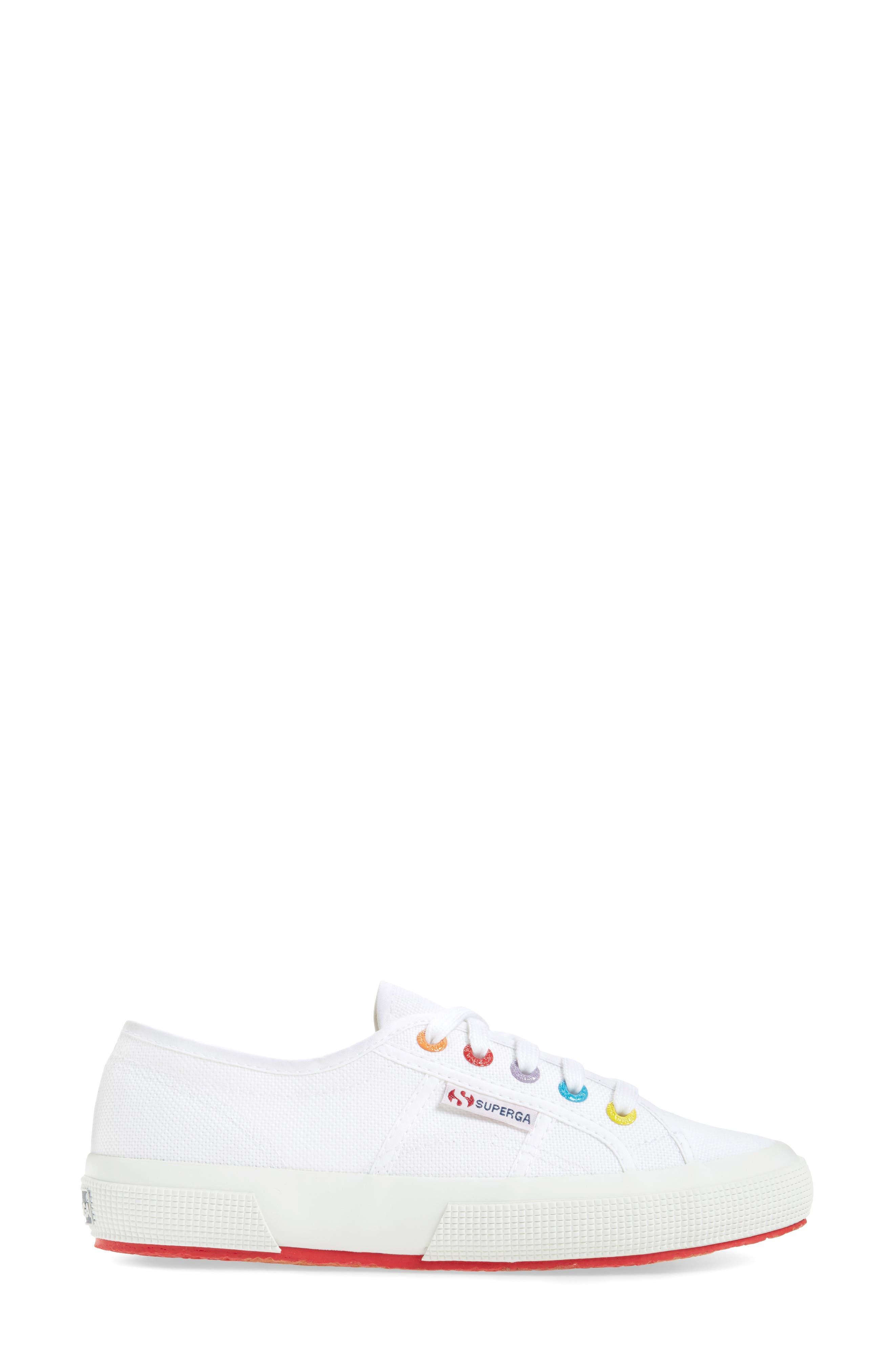 2750 Rainbow Sneaker,                             Alternate thumbnail 8, color,