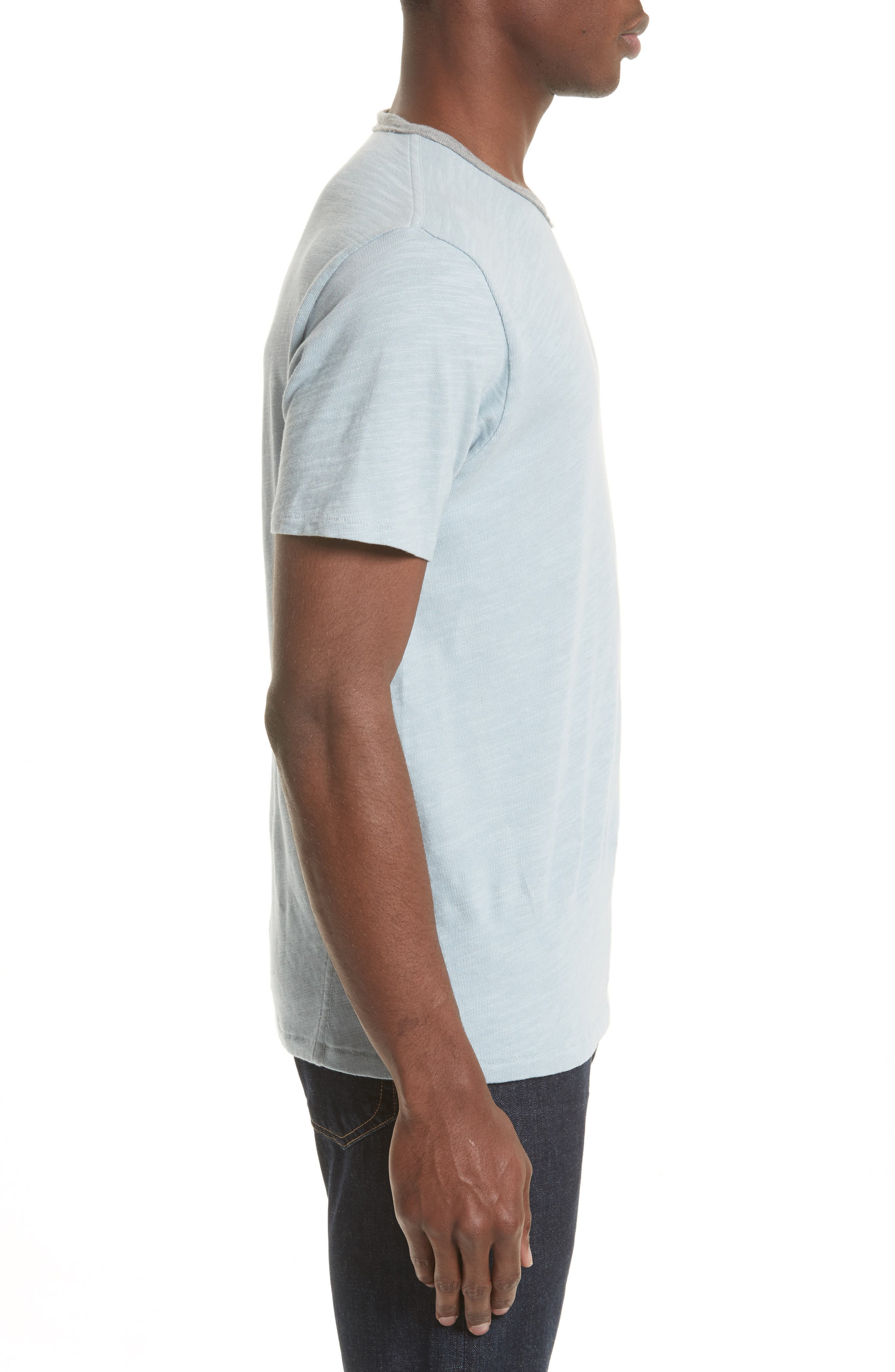 Slub Cotton Jersey T-Shirt,                             Alternate thumbnail 3, color,                             450