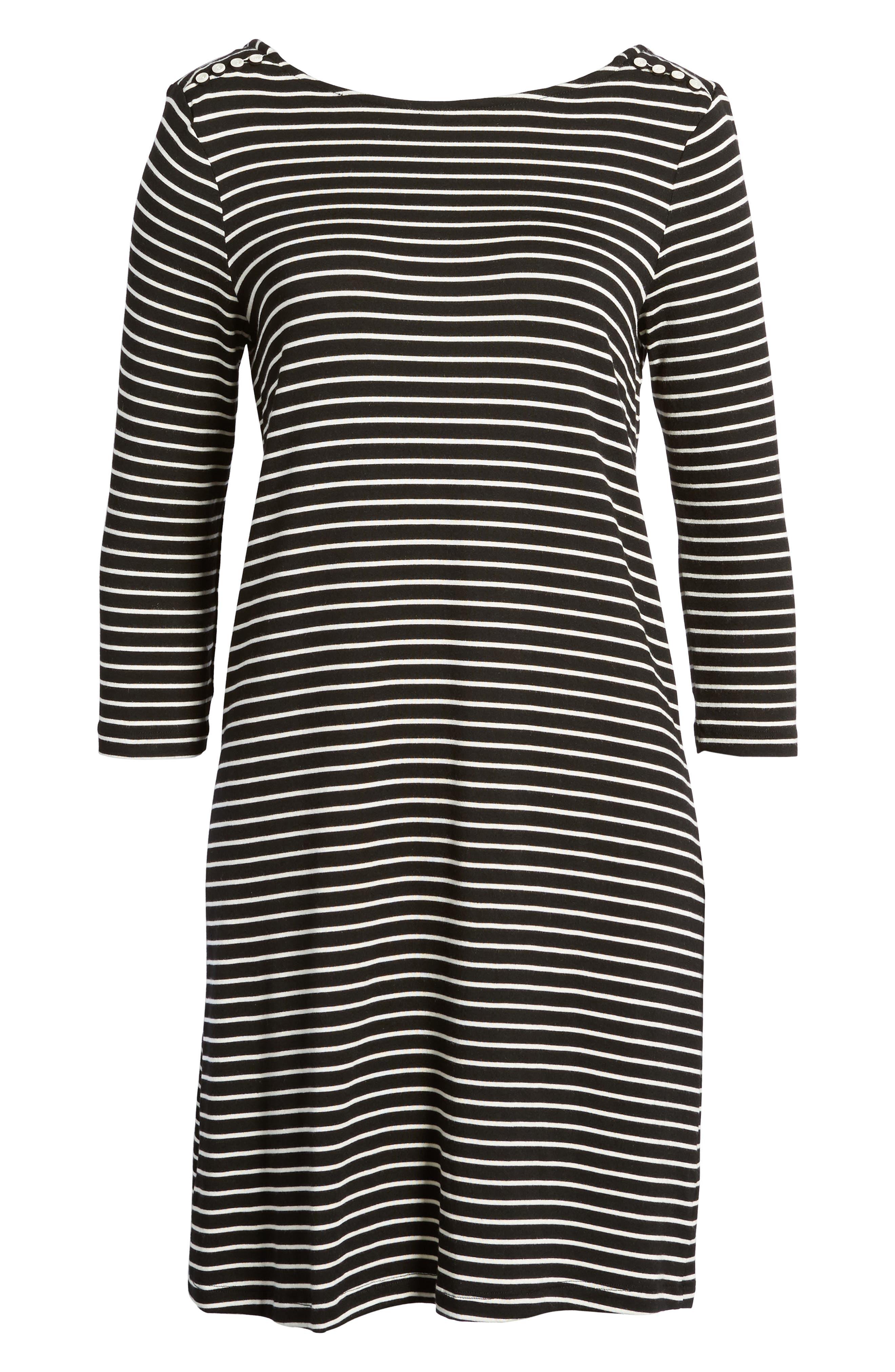 Rafaela Knit Dress,                             Alternate thumbnail 6, color,                             010