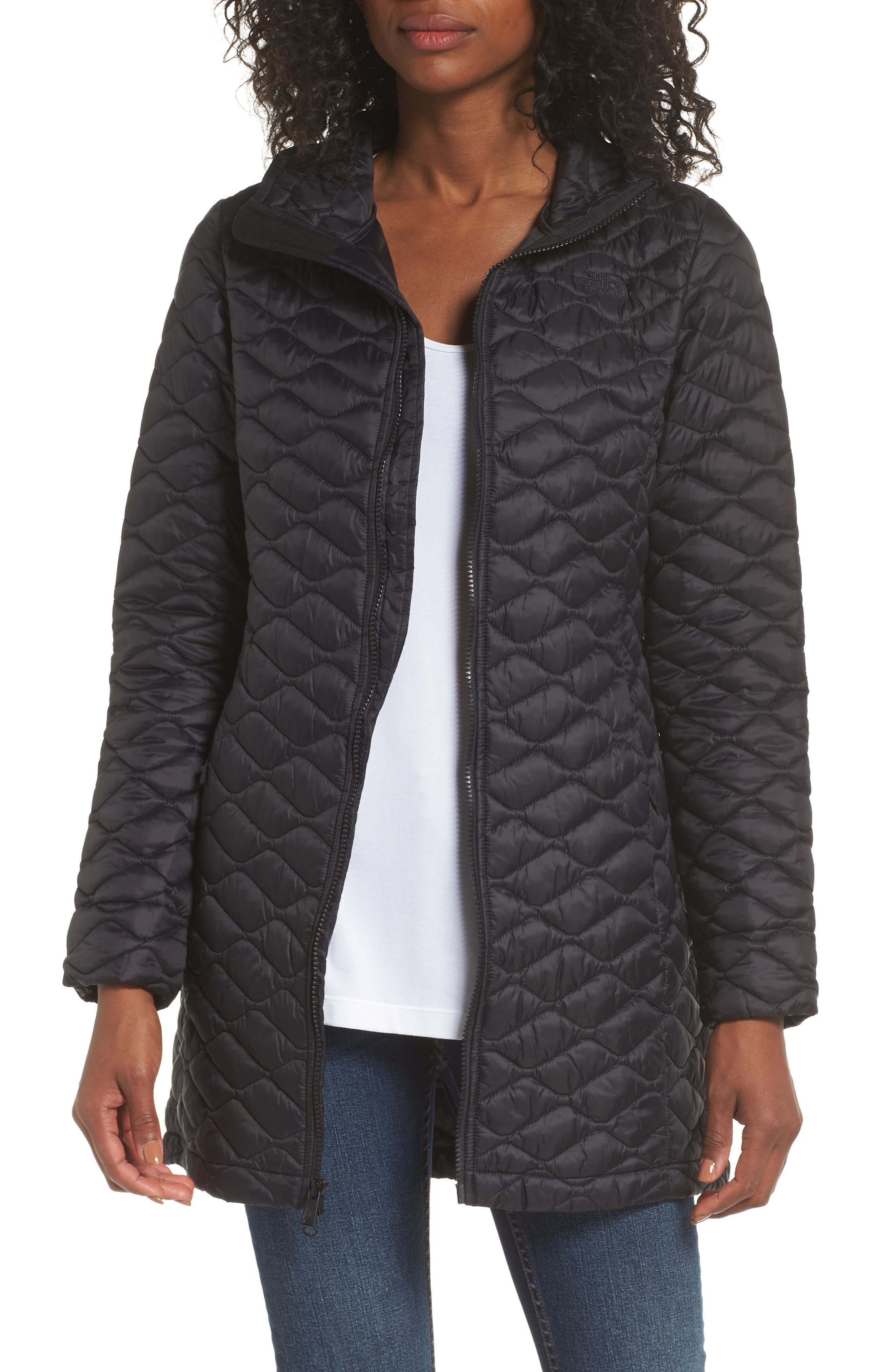 ThermoBall<sup>™</sup> Insulated Hooded Parka II,                             Main thumbnail 1, color,                             TNF BLACK