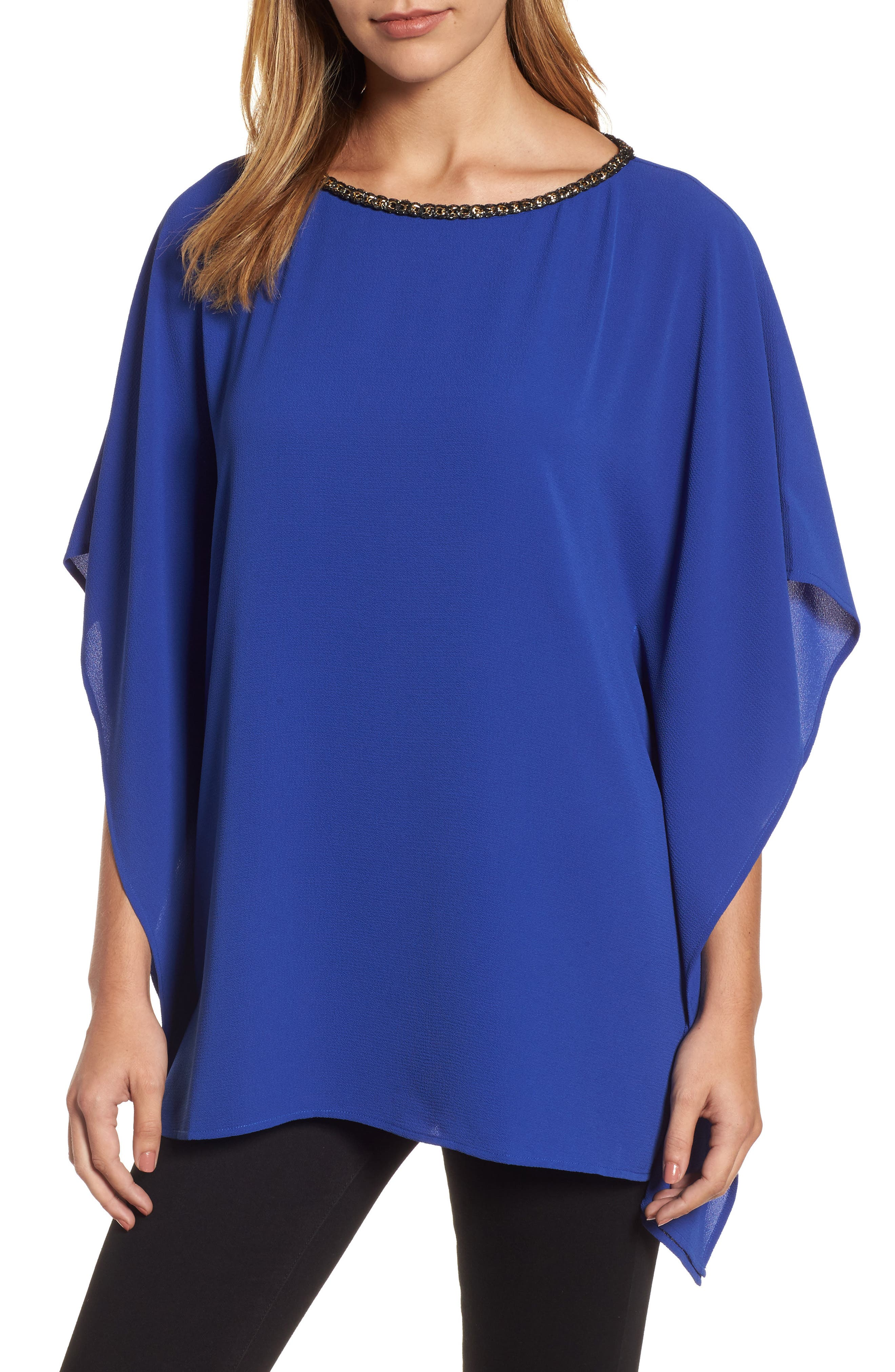 Chain Neck Top,                         Main,                         color, 493