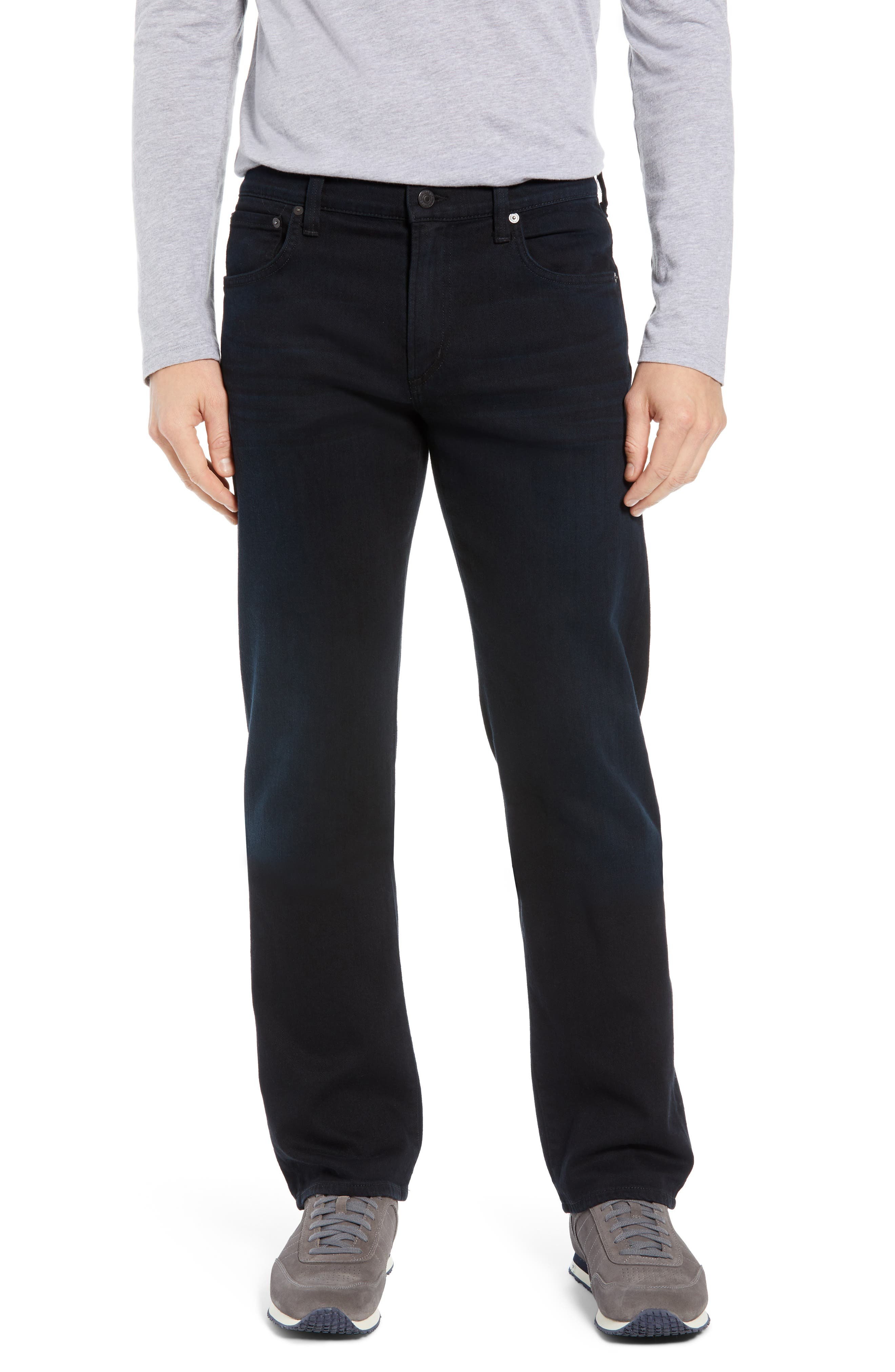 Sid Straight Leg Jeans,                         Main,                         color, BELVIN