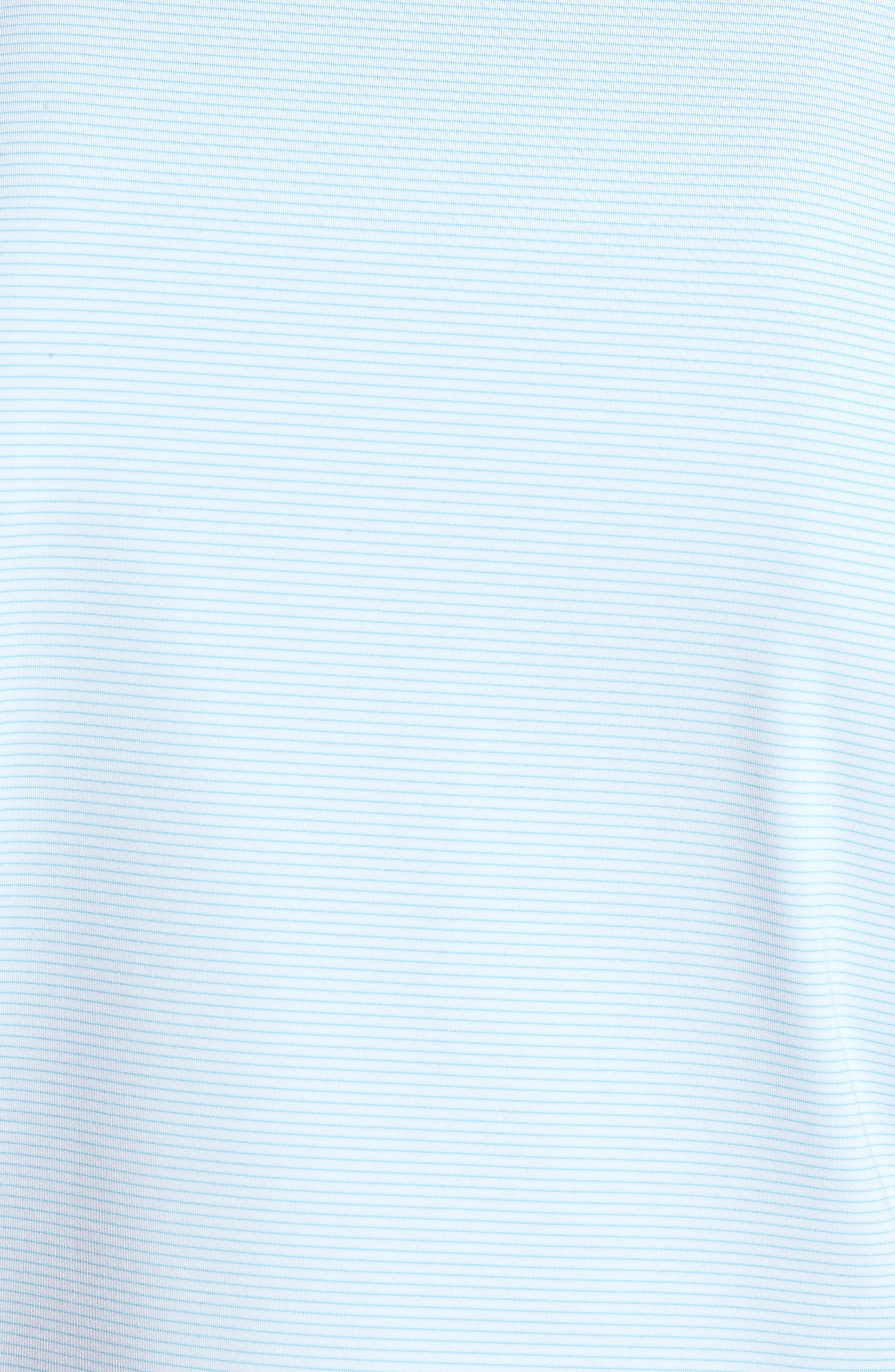 Halford Stripe Stretch Jersey Polo,                             Alternate thumbnail 5, color,                             100