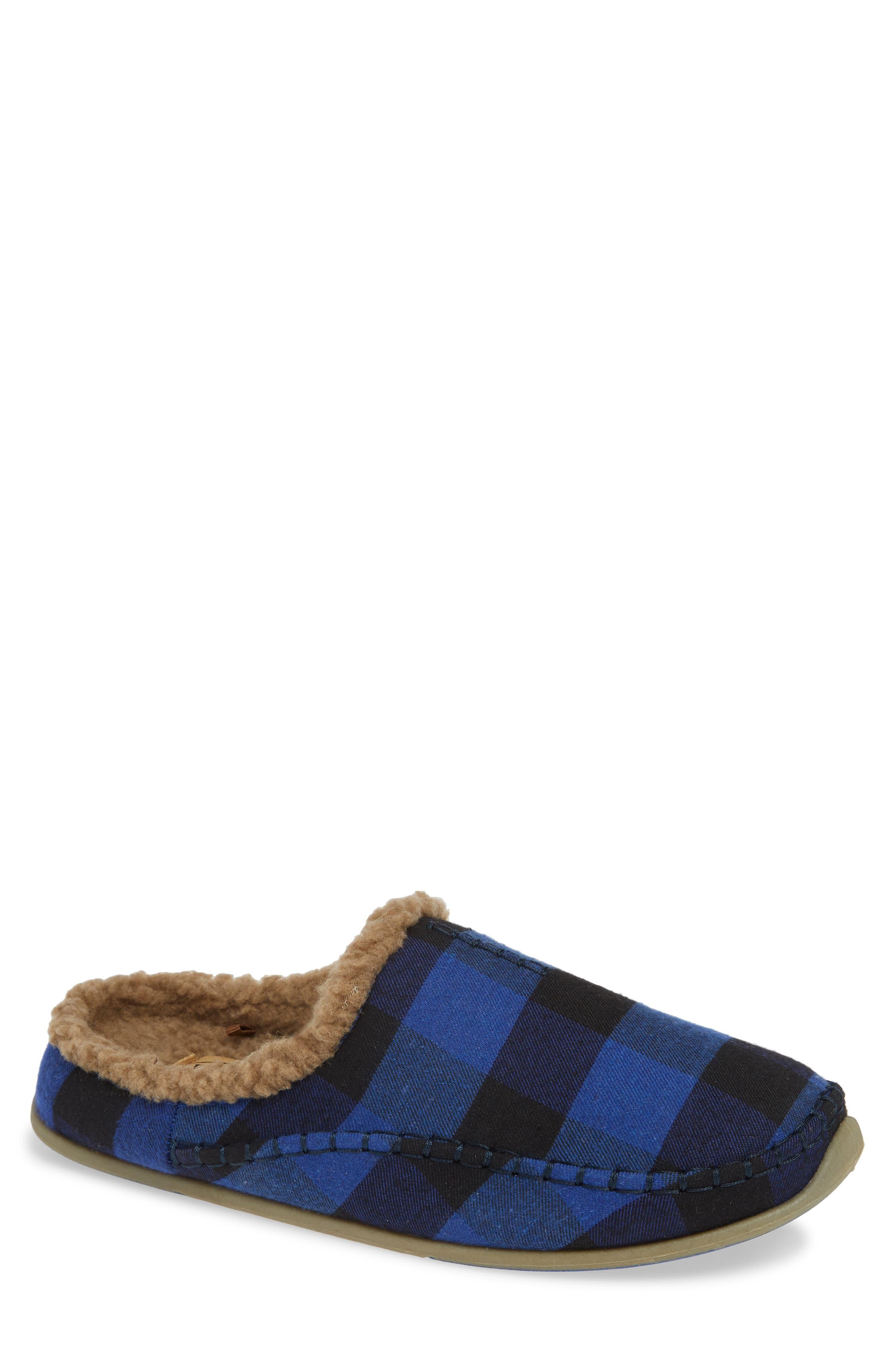 Nordic Slipper,                         Main,                         color, BLUE / BLACK