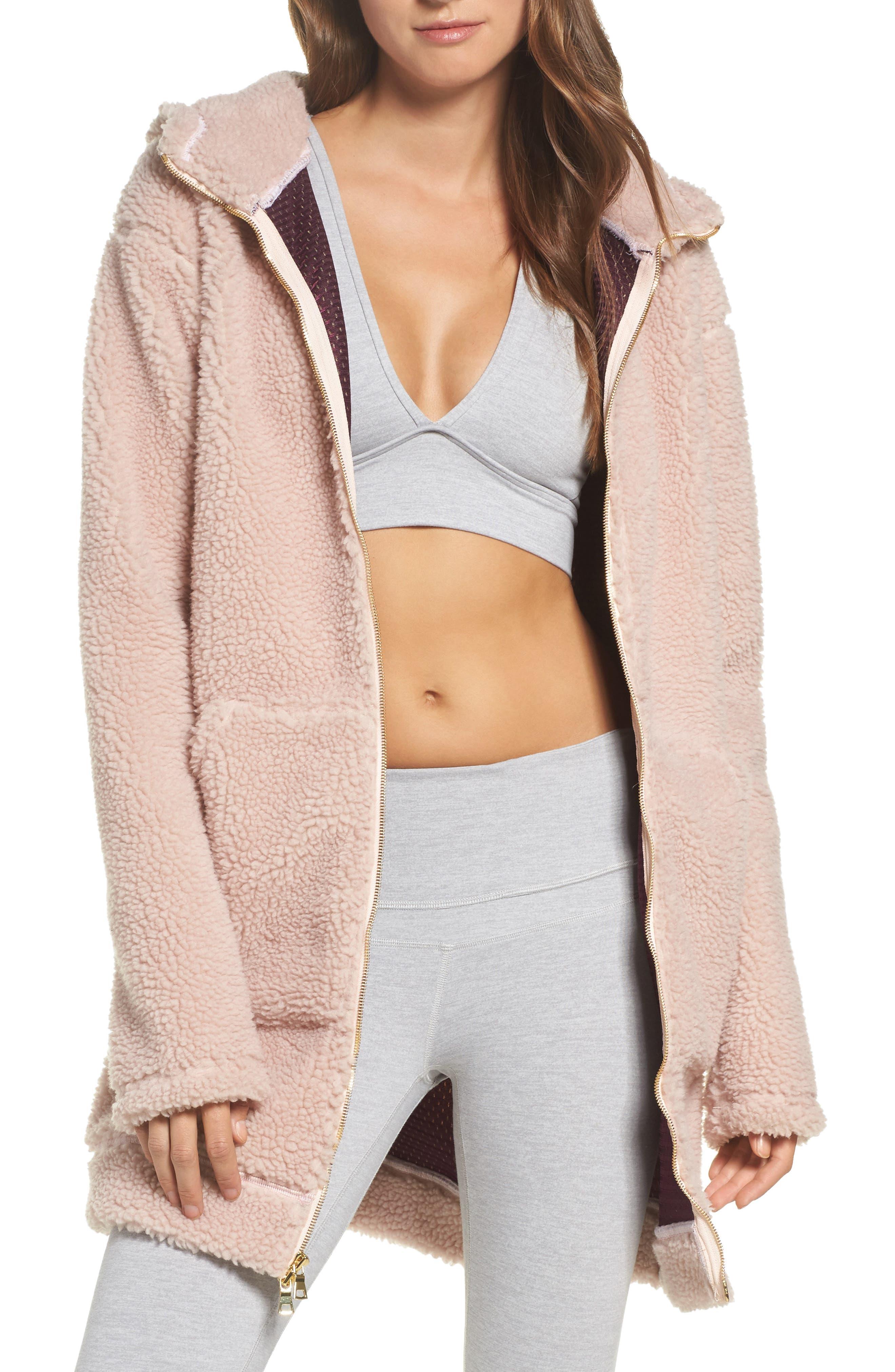 Brea Fleece Jacket,                         Main,                         color, 680