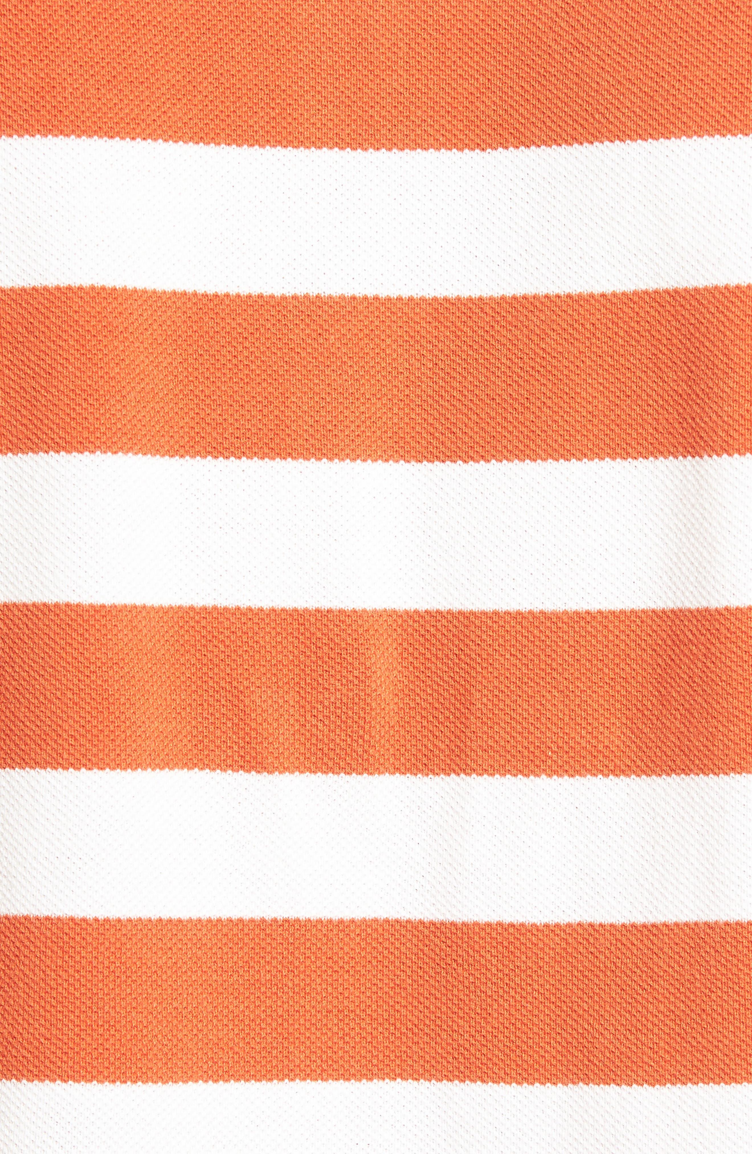 Wallingford Sport Fit Stripe Polo,                             Alternate thumbnail 5, color,                             621