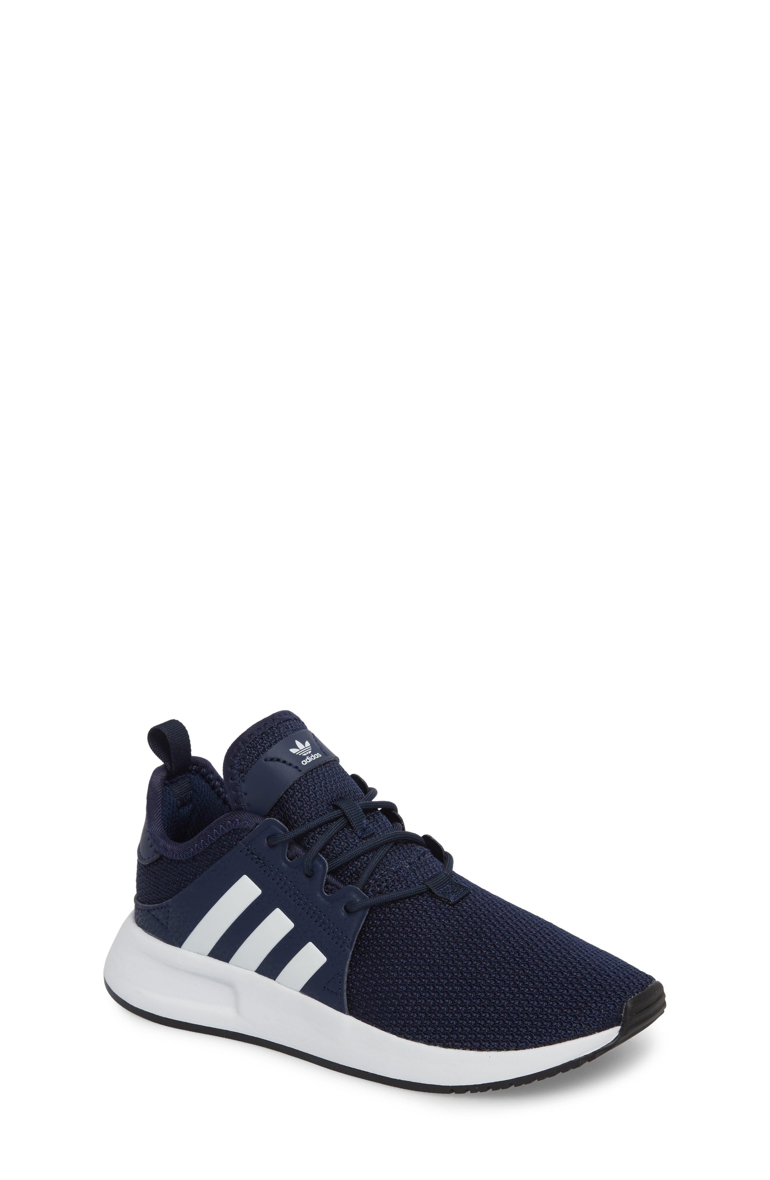 X_PLR Sneaker,                             Main thumbnail 1, color,                             COLLEGIATE NAVY/ WHITE