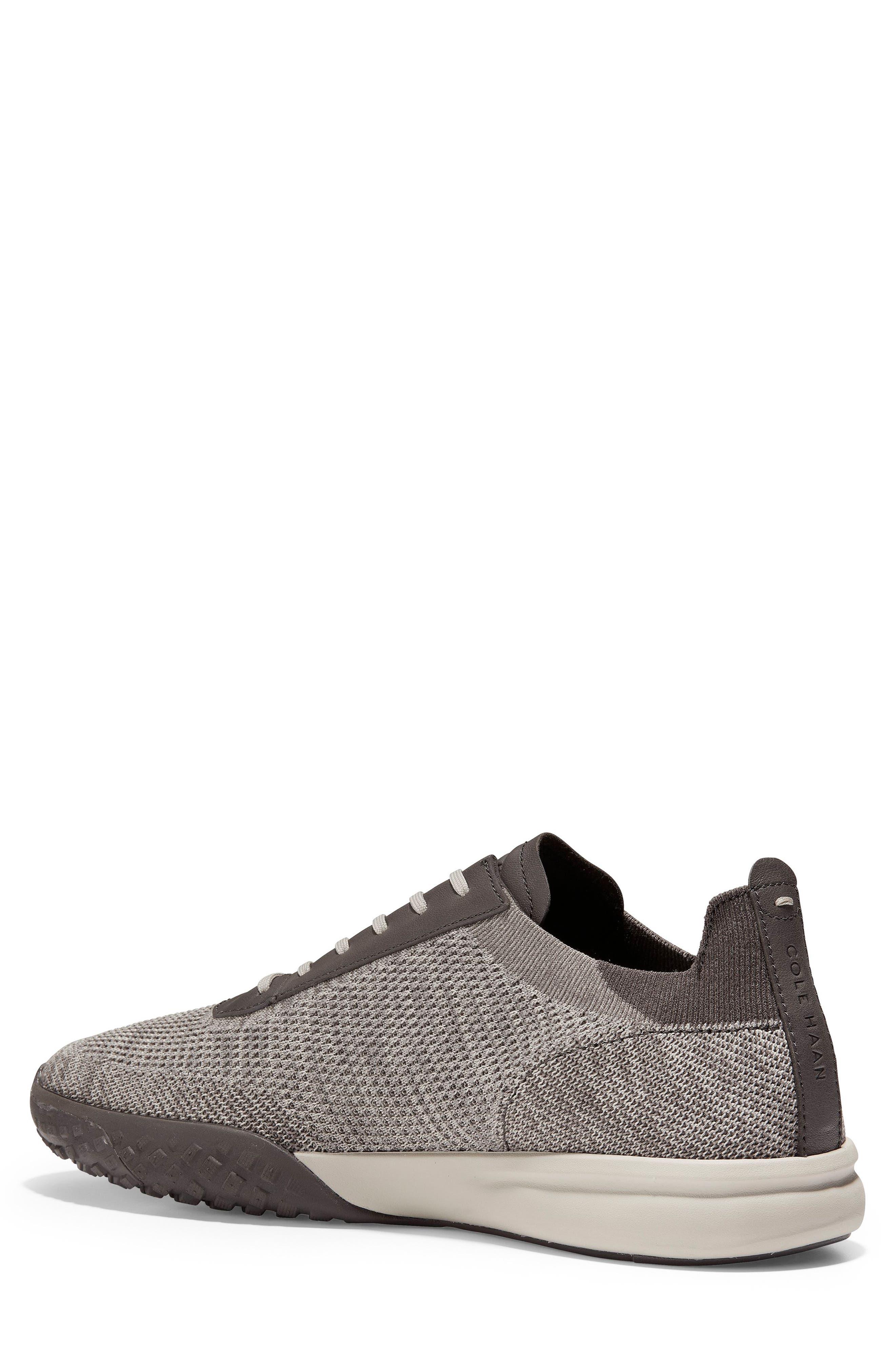 GrandPro Trail Low Stitchlite Sneaker,                             Alternate thumbnail 2, color,                             BLACK/ VAPOR GREY KNIT