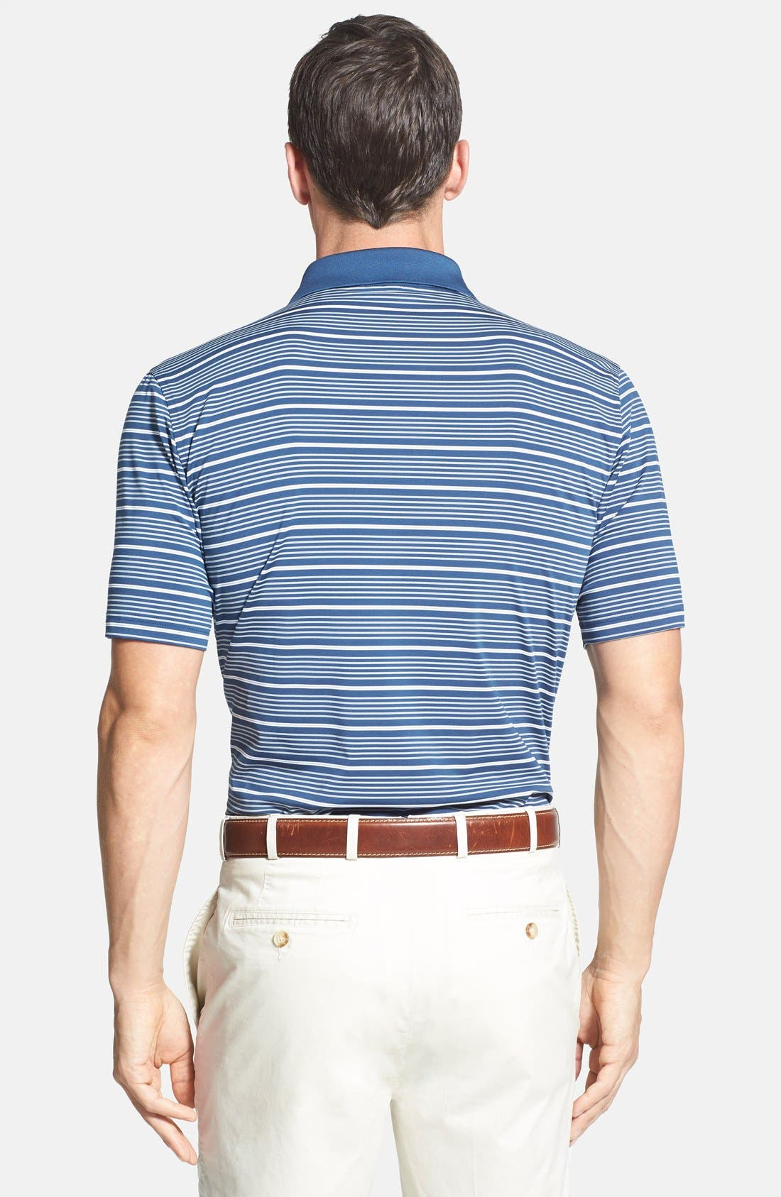'Staley' Moisture Wicking Polo,                             Alternate thumbnail 9, color,
