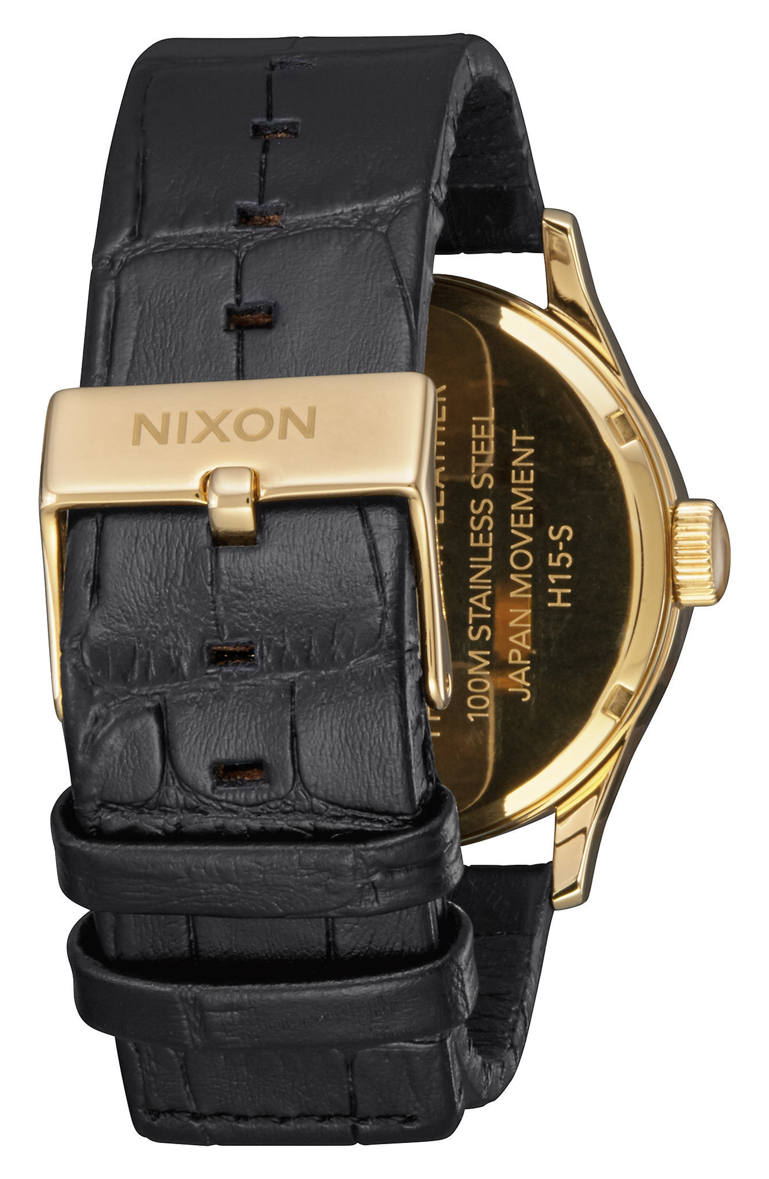 The Sentry Leather Strap Watch, 42mm,                             Alternate thumbnail 75, color,