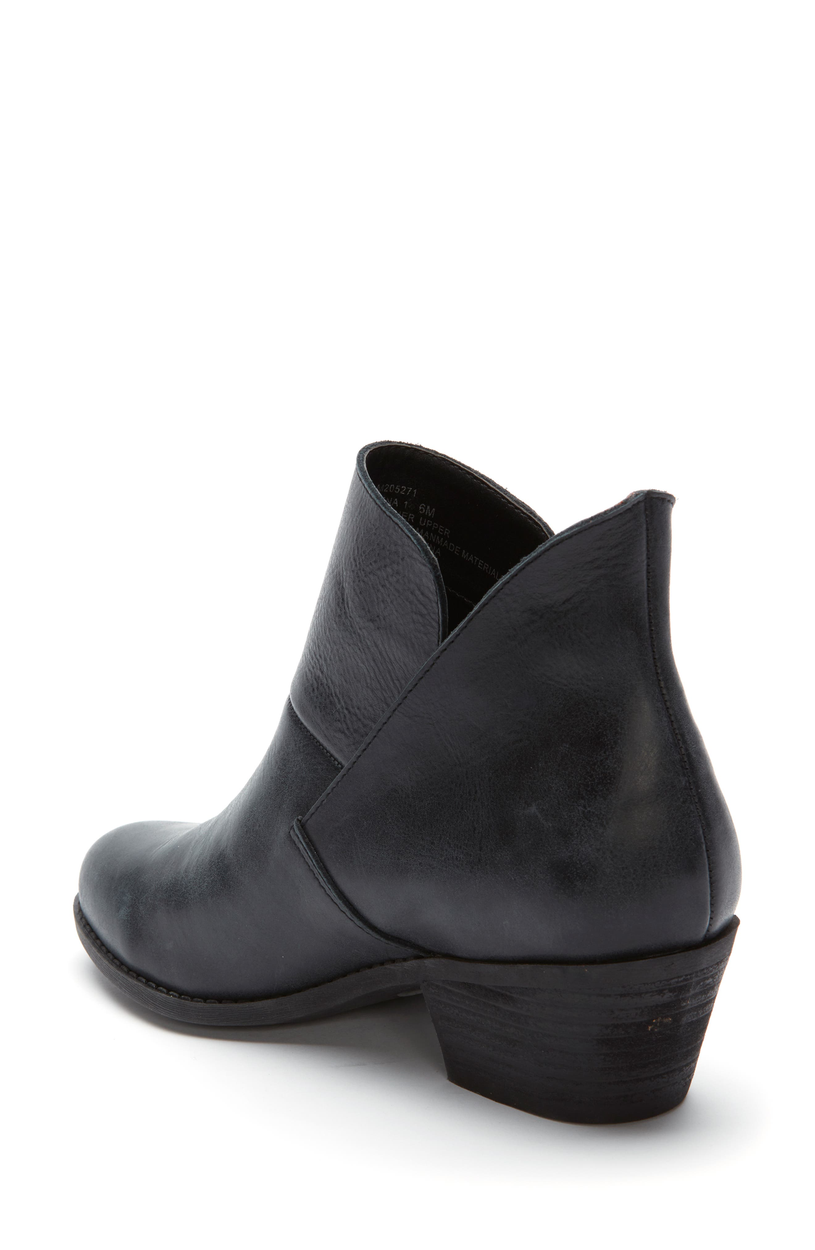 Me Too Zena Ankle Boot,                             Alternate thumbnail 2, color,                             BLACK LEATHER