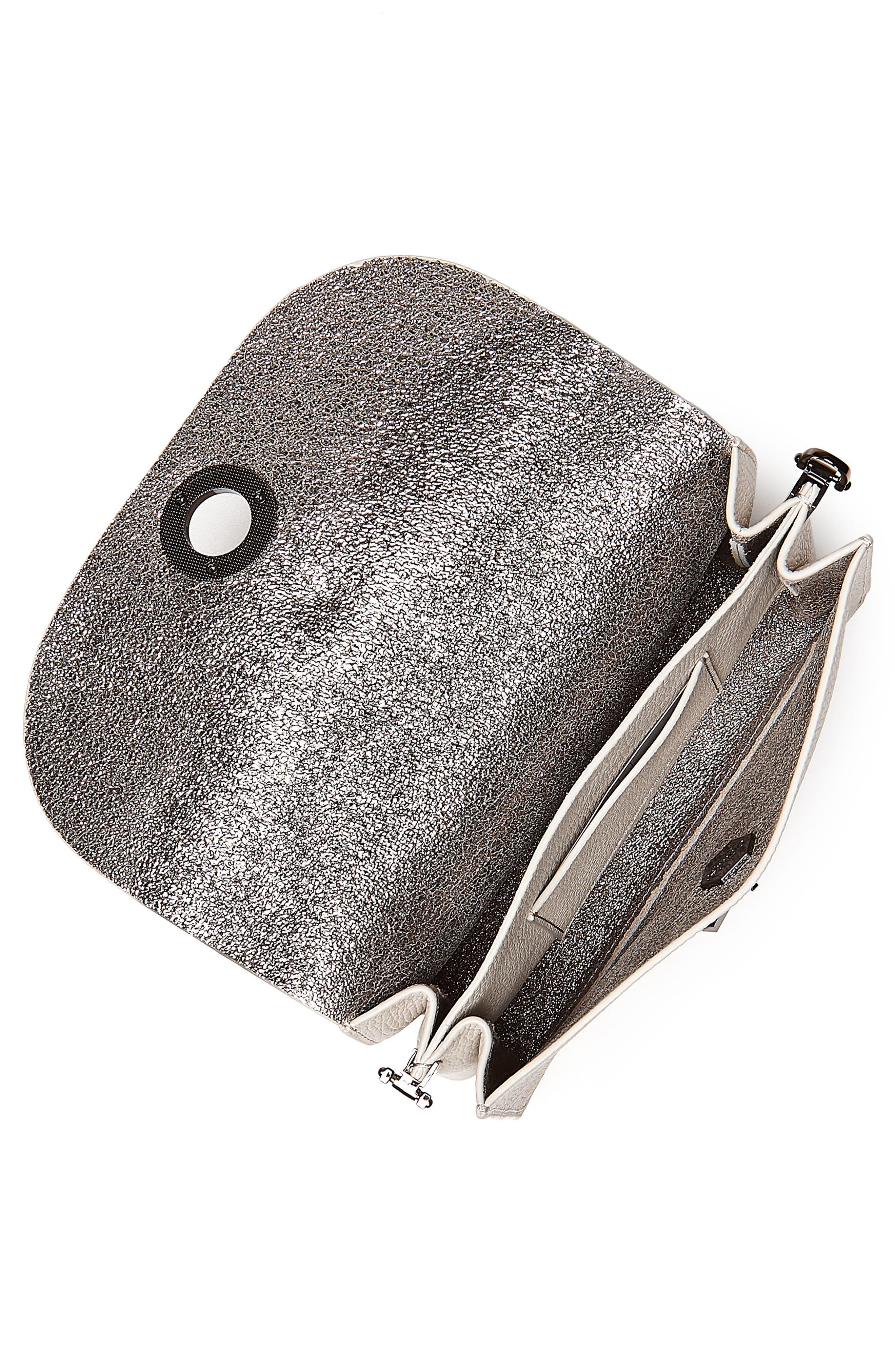 Waverly Leather Crossbody Bag,                             Alternate thumbnail 18, color,
