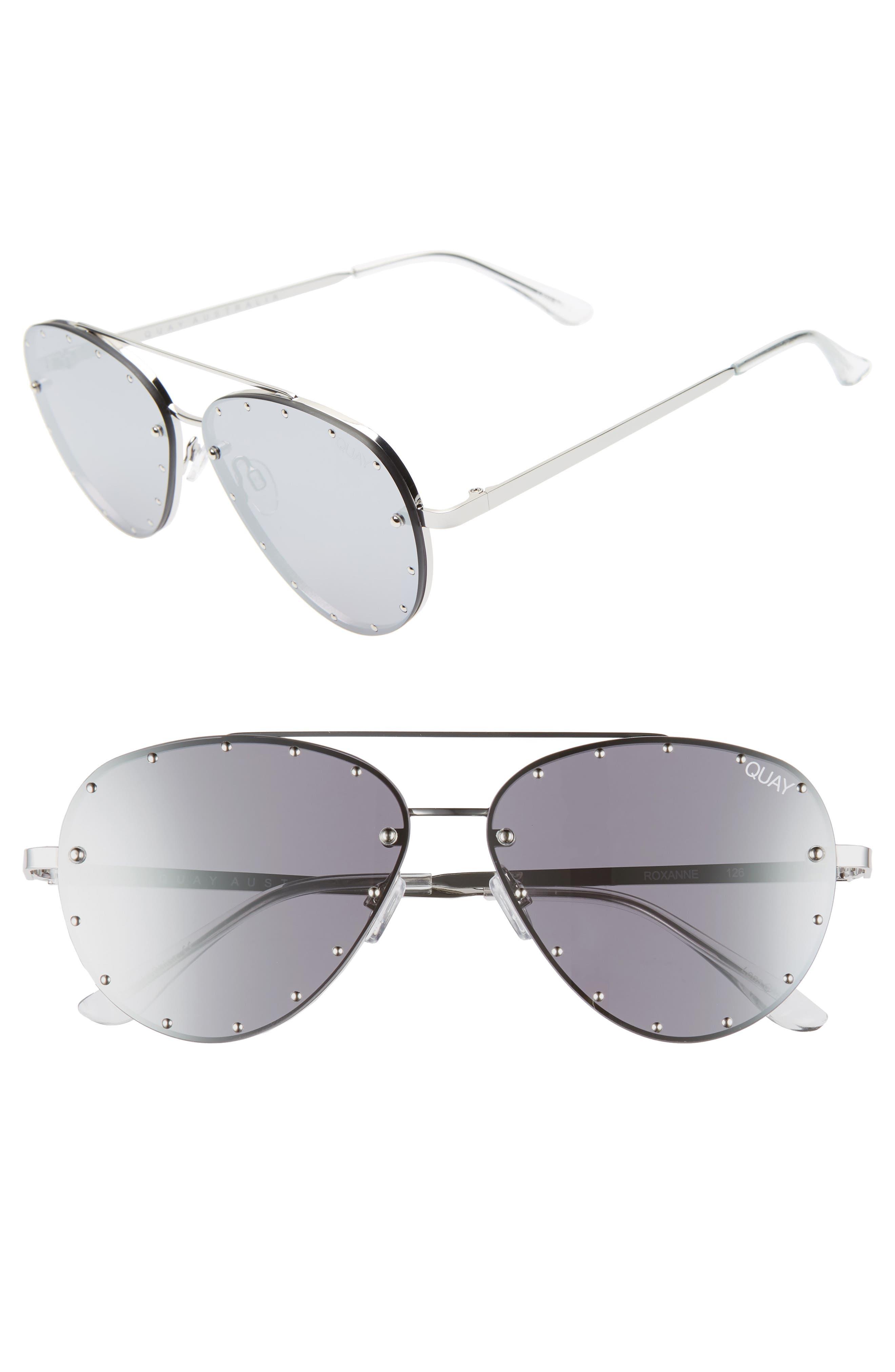 faec1200ae Women s Accessories NEW QUAY X Desi High Key Black Silver Mirror Sunglasses
