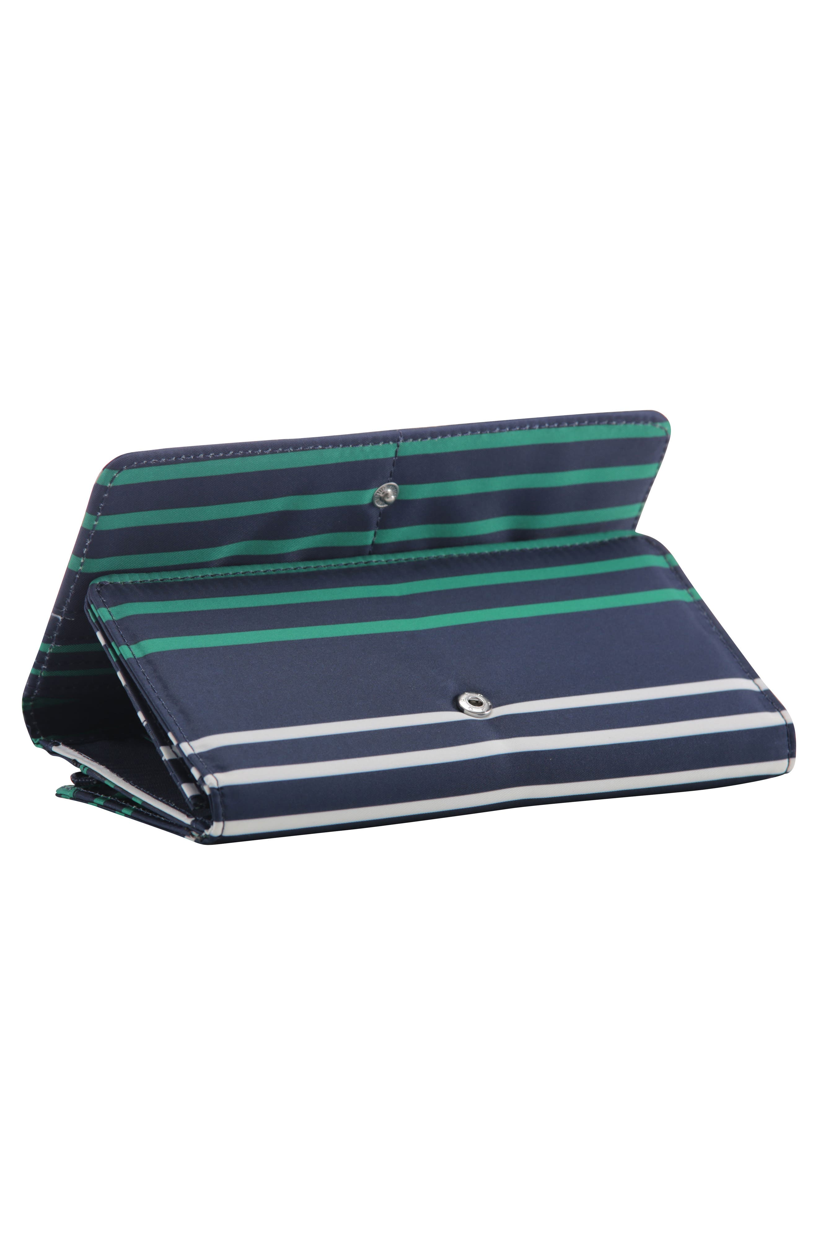 Be Rich - Coastal Collection Trifold Clutch Wallet,                             Alternate thumbnail 2, color,                             PROVIDENCE