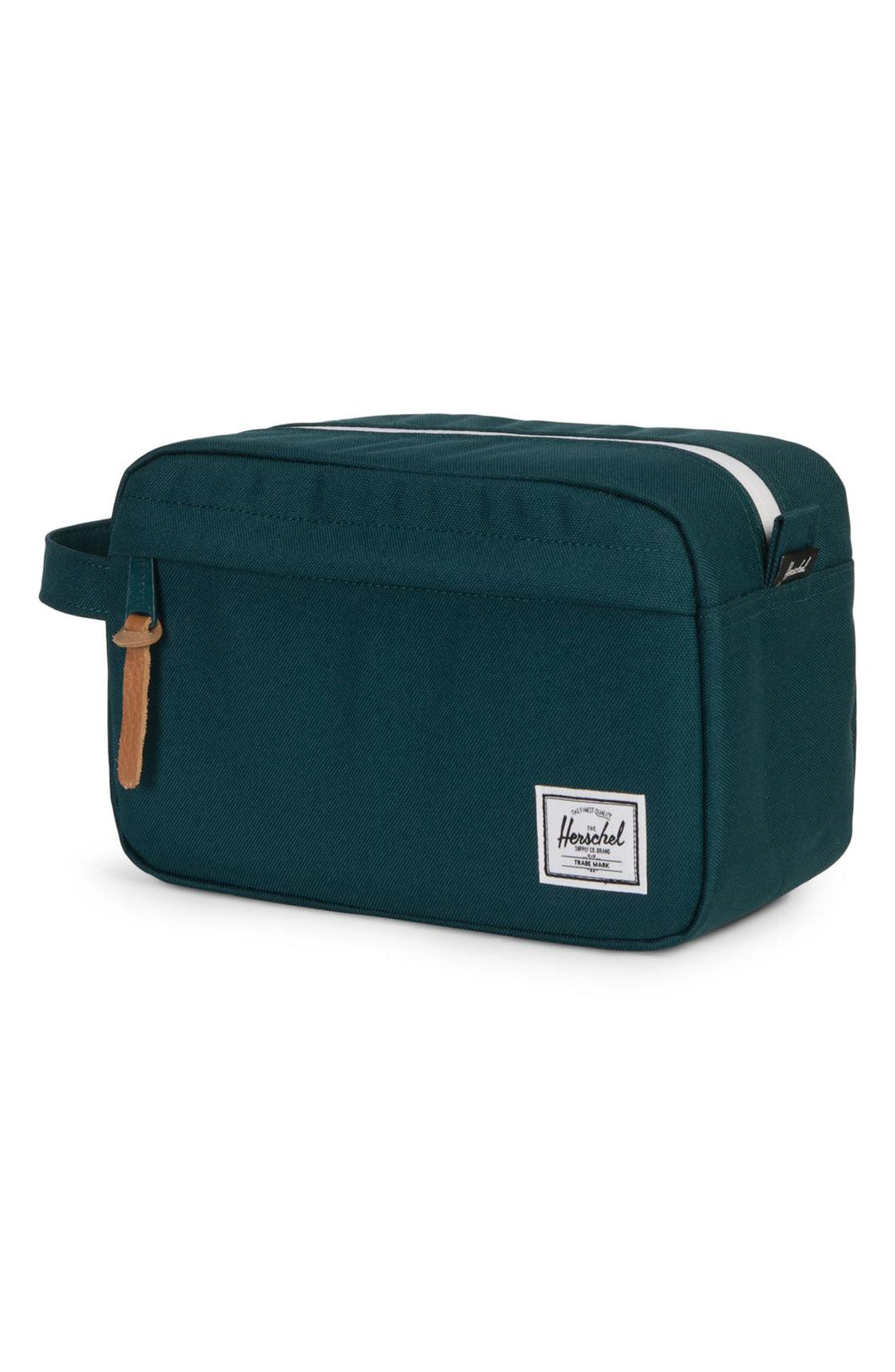 'Chapter' Toiletry Case,                             Alternate thumbnail 3, color,                             DEEP TEAL