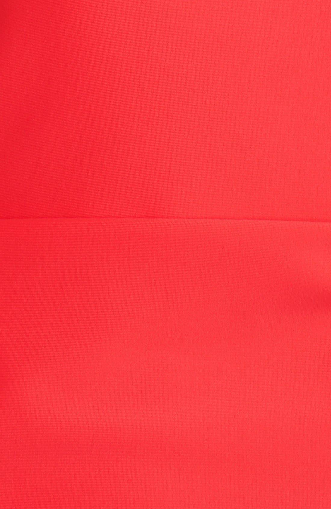 'Sonja' Long Sleeve Half Zip Convertible Swimdress,                             Alternate thumbnail 37, color,