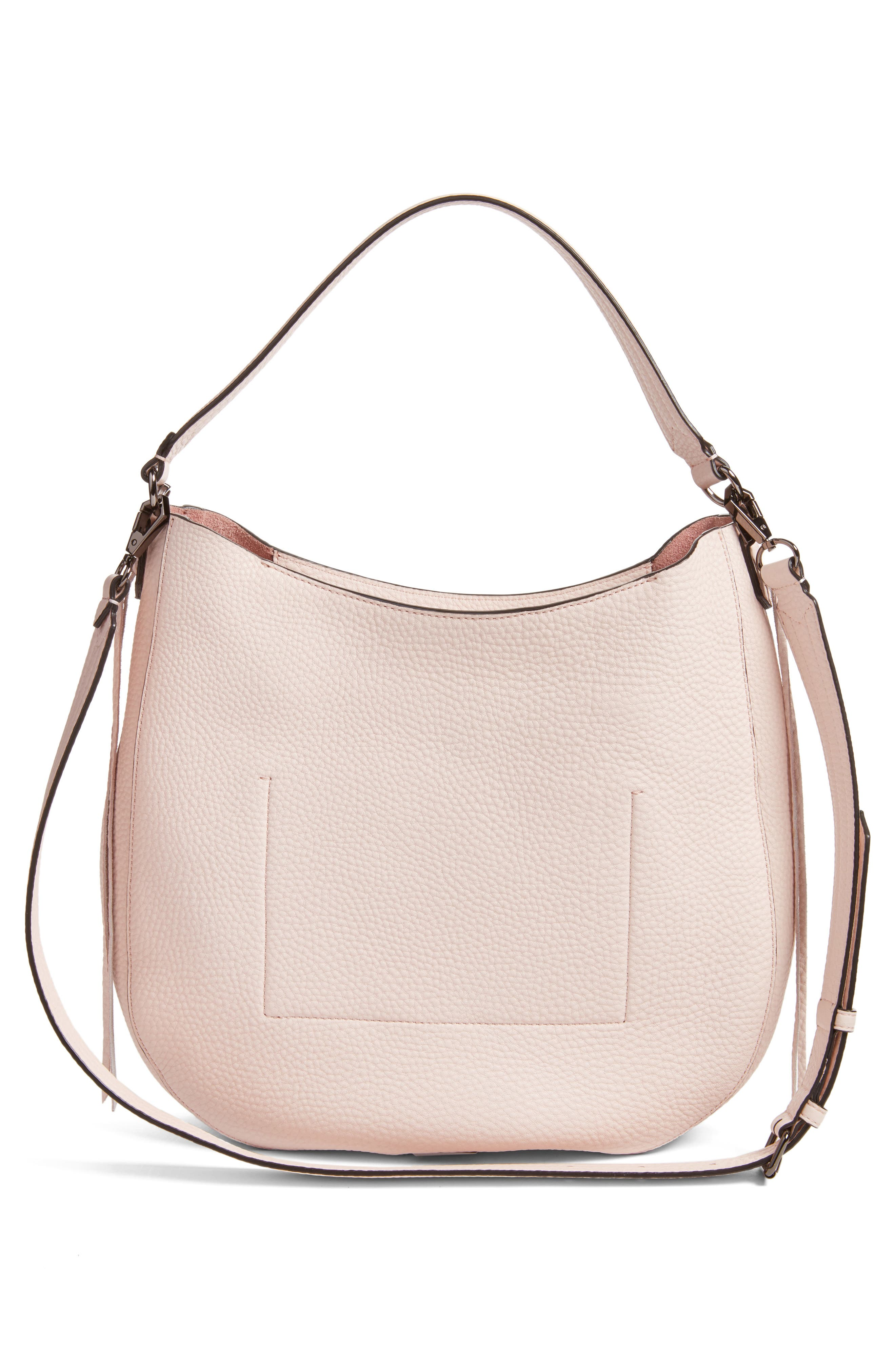 Unlined Convertible Whipstitch Hobo,                             Alternate thumbnail 13, color,