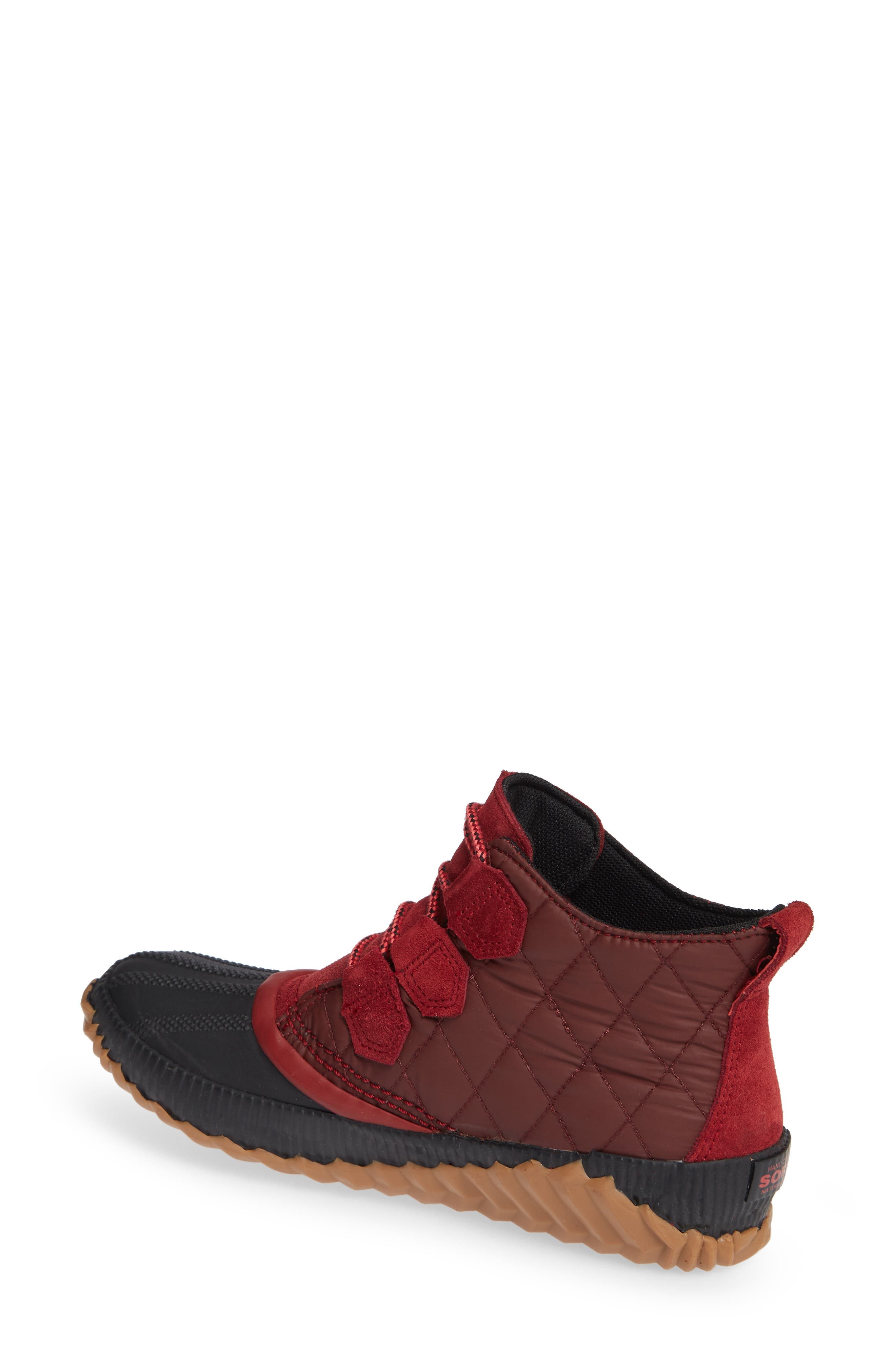 Out 'N' About Plus Camp Waterproof Bootie,                             Alternate thumbnail 2, color,                             CAMP/ RED ELEMENT