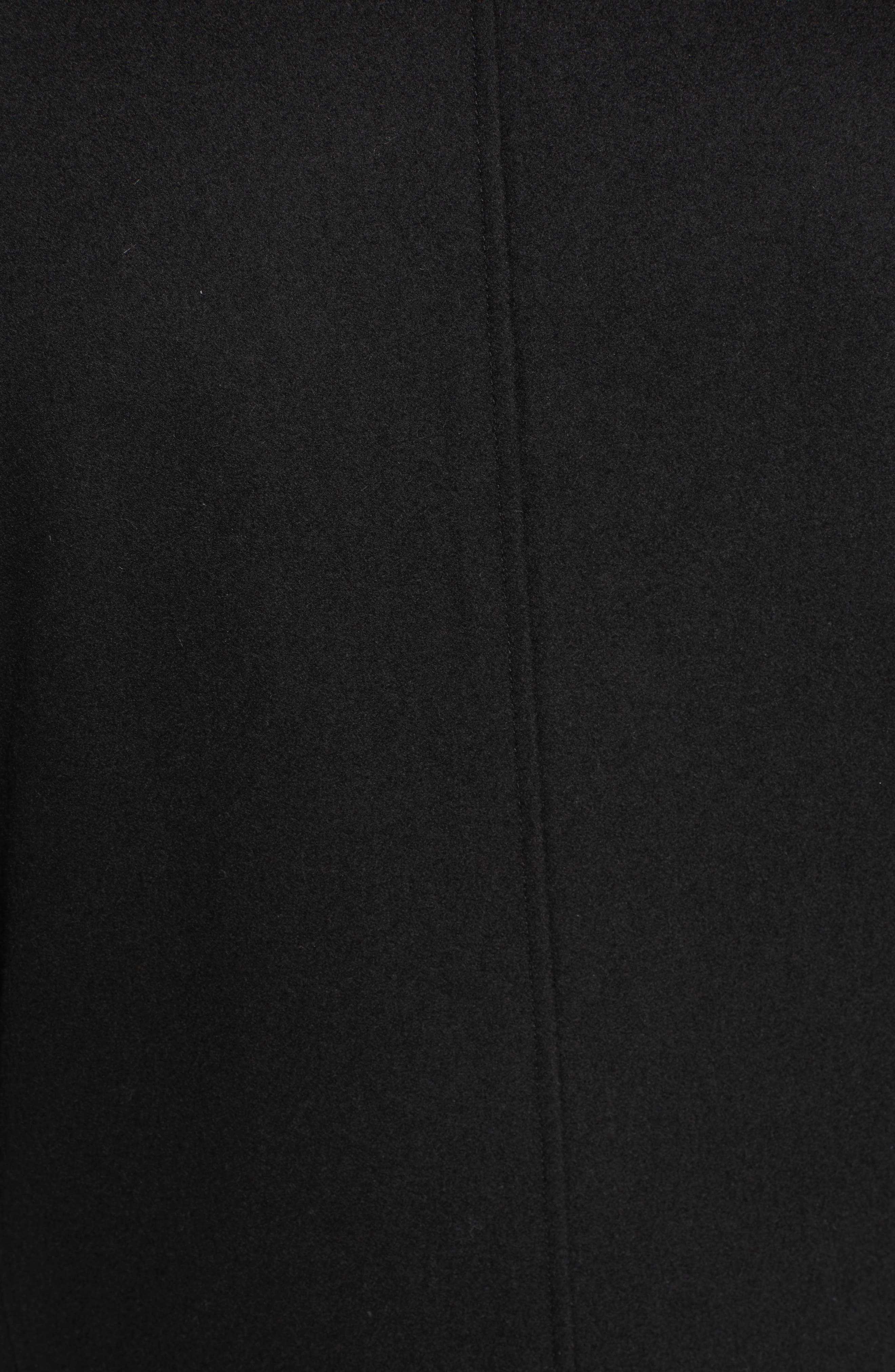 Wool Blend 3-in-1 Topcoat,                             Alternate thumbnail 5, color,                             001