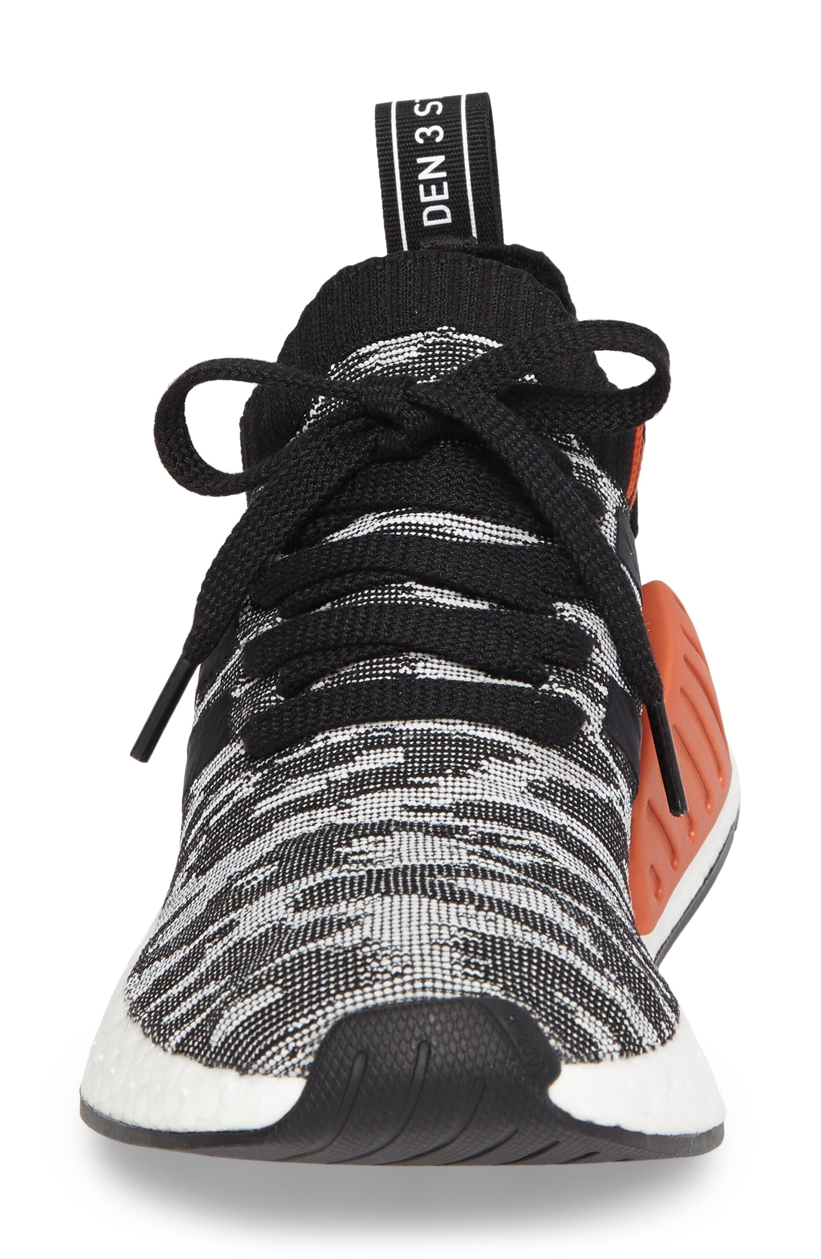 NMD R2 Primeknit Athletic Shoe,                             Alternate thumbnail 17, color,