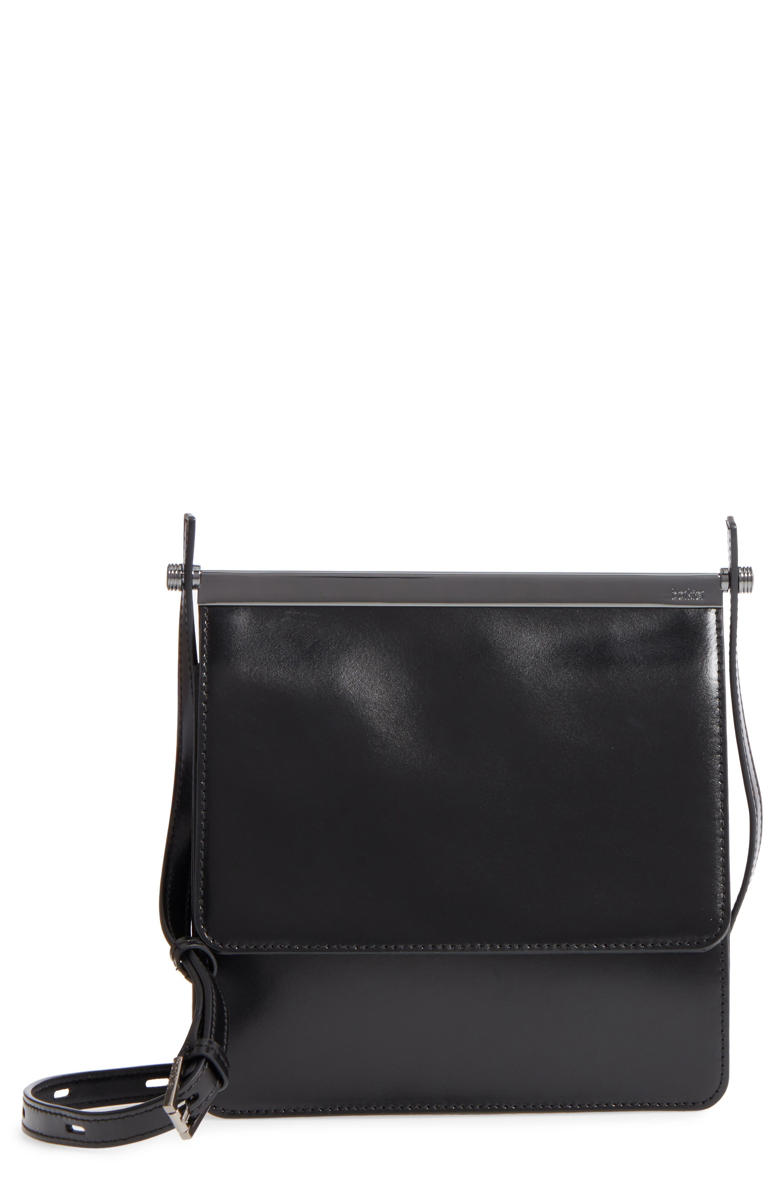 Crawford Calfskin Leather Crossbody Bag,                             Main thumbnail 1, color,