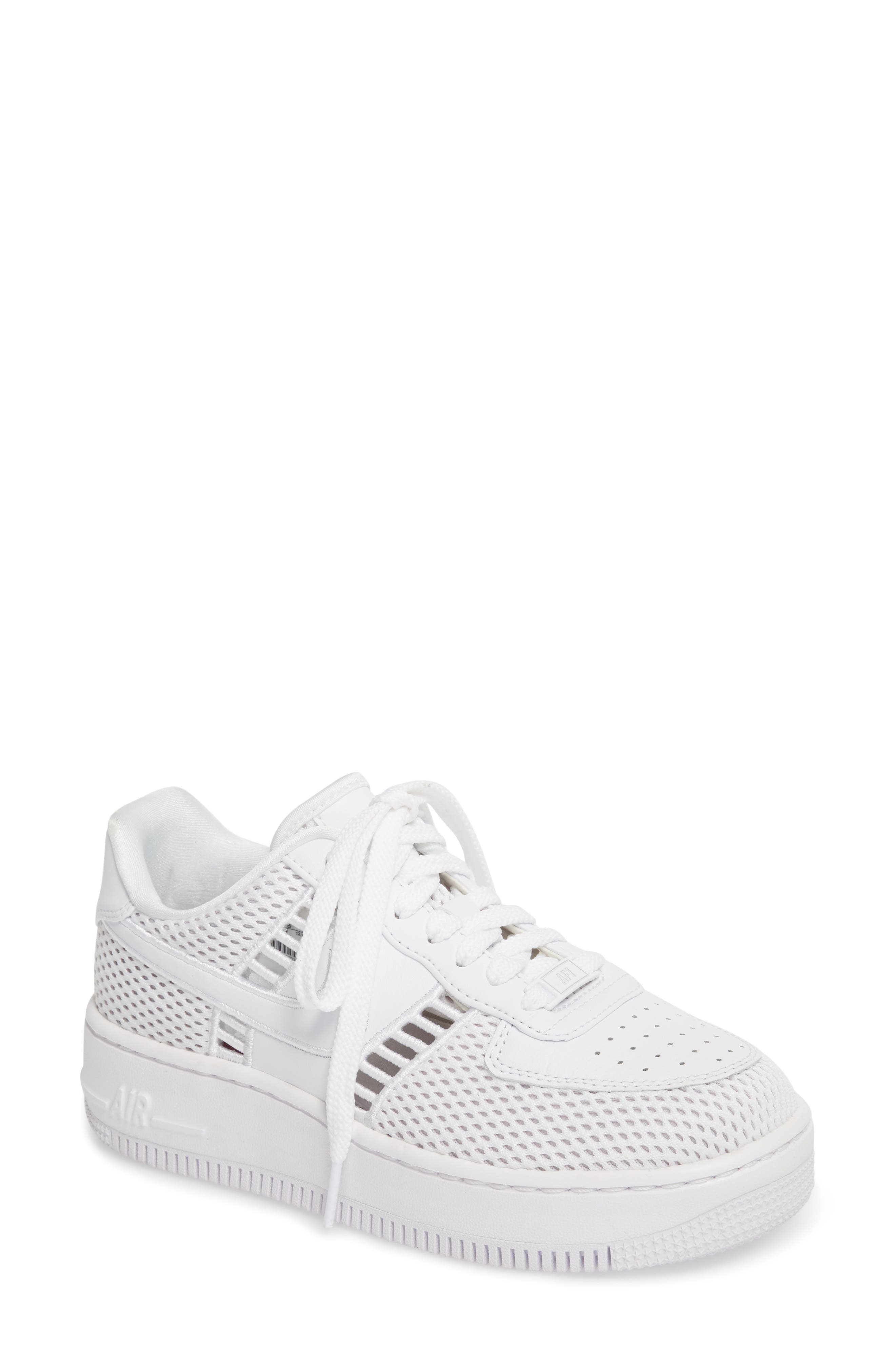 Air Force 1 Upstep SI Mesh Sneaker,                         Main,                         color, 100