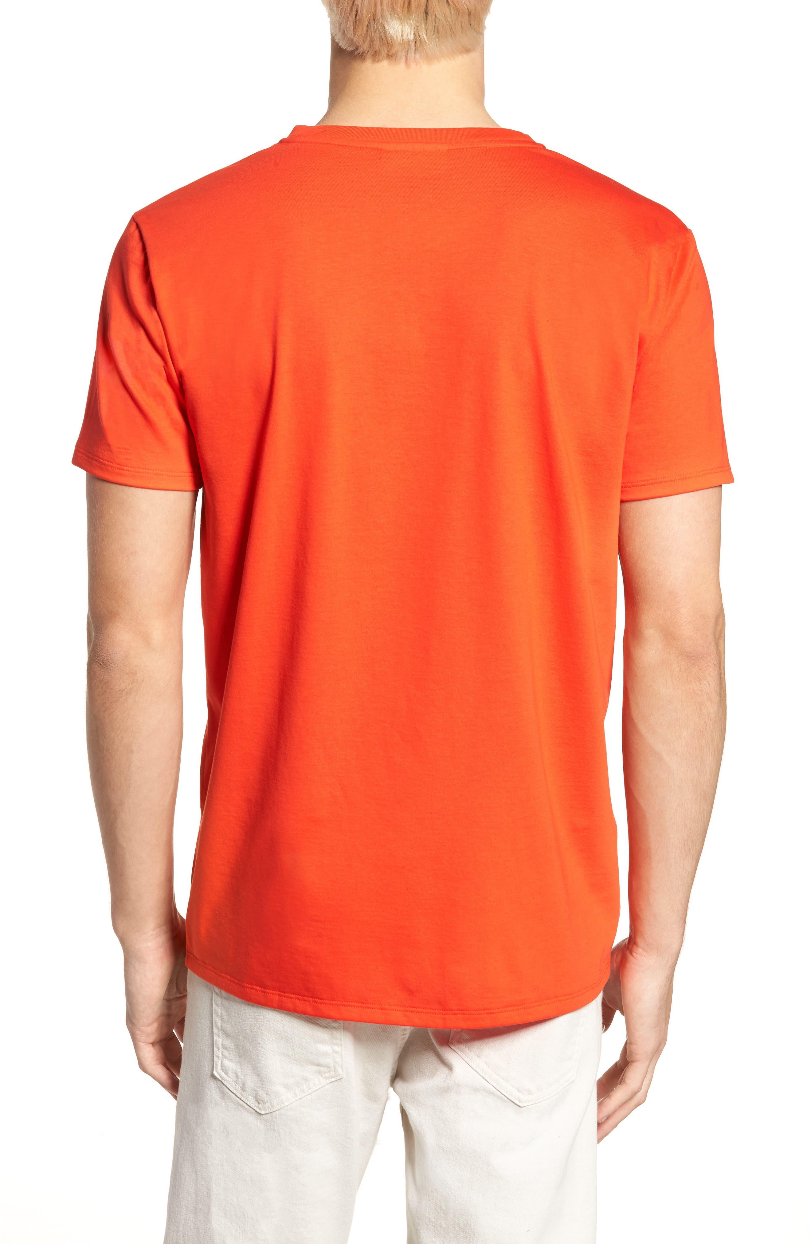 V-Neck Cotton T-Shirt,                             Alternate thumbnail 12, color,
