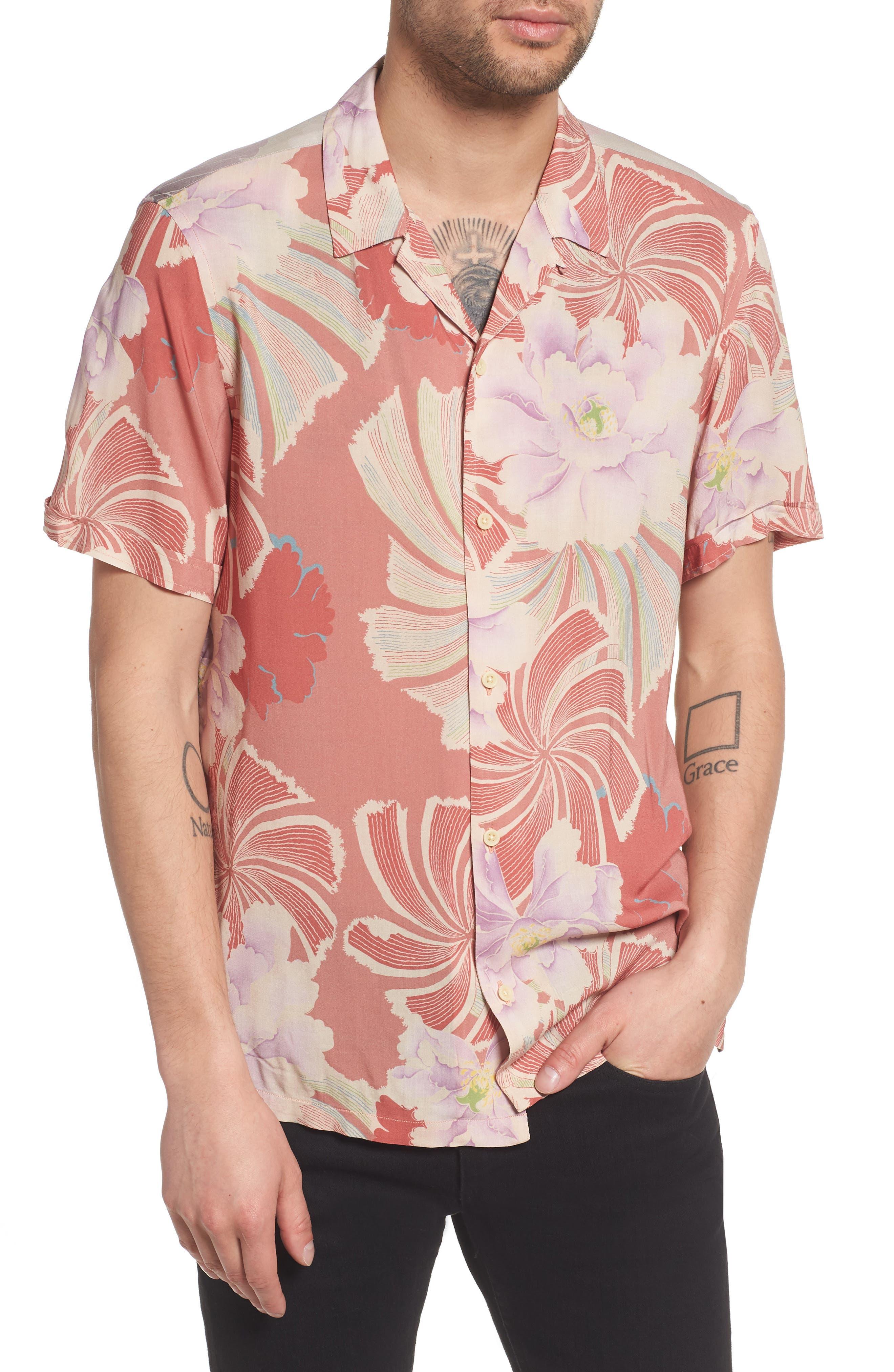 Helix Regular Fit Short Sleeve Sport Shirt,                             Main thumbnail 1, color,
