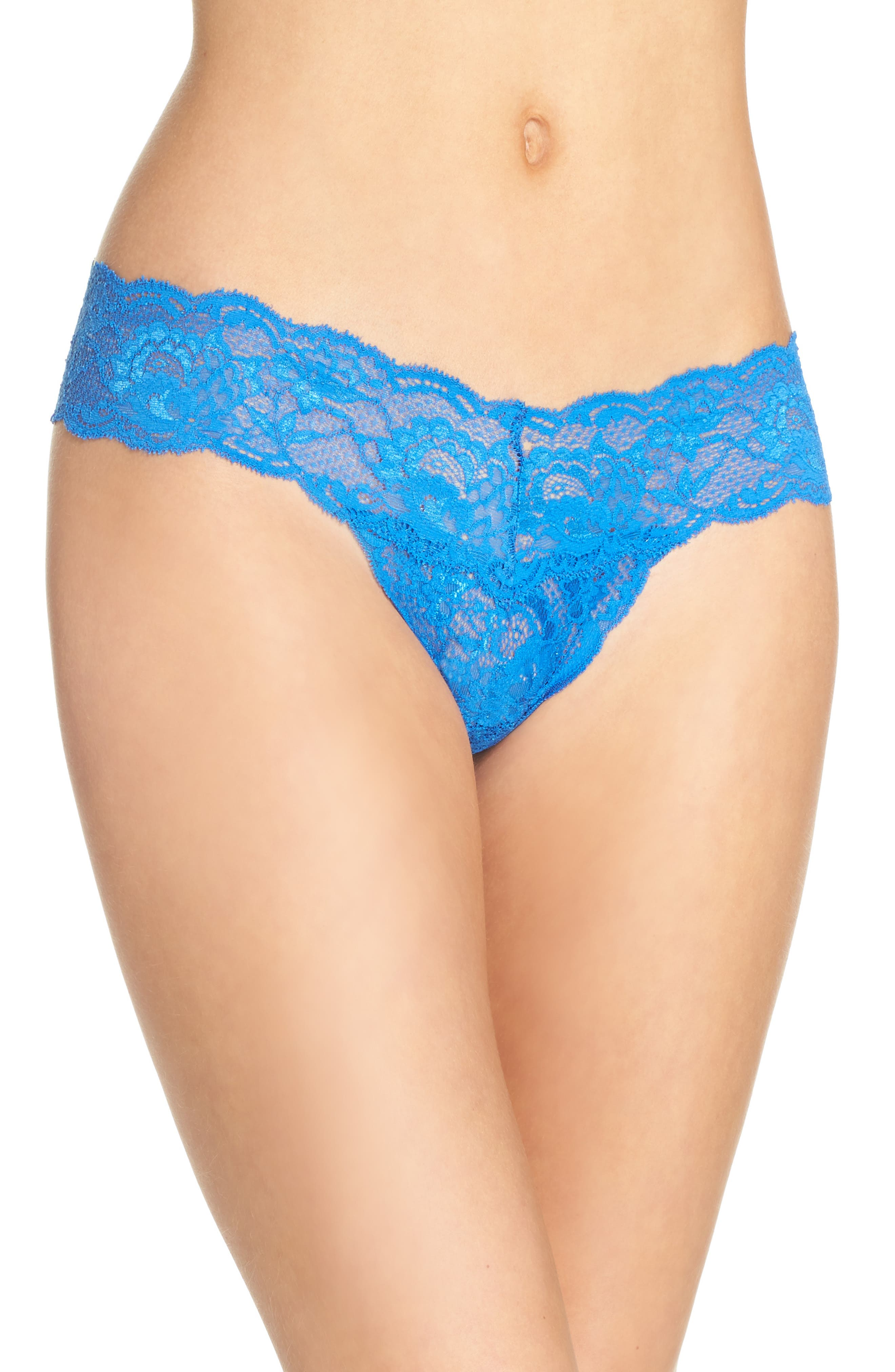 'Never Say Never Cutie' Thong,                             Alternate thumbnail 140, color,